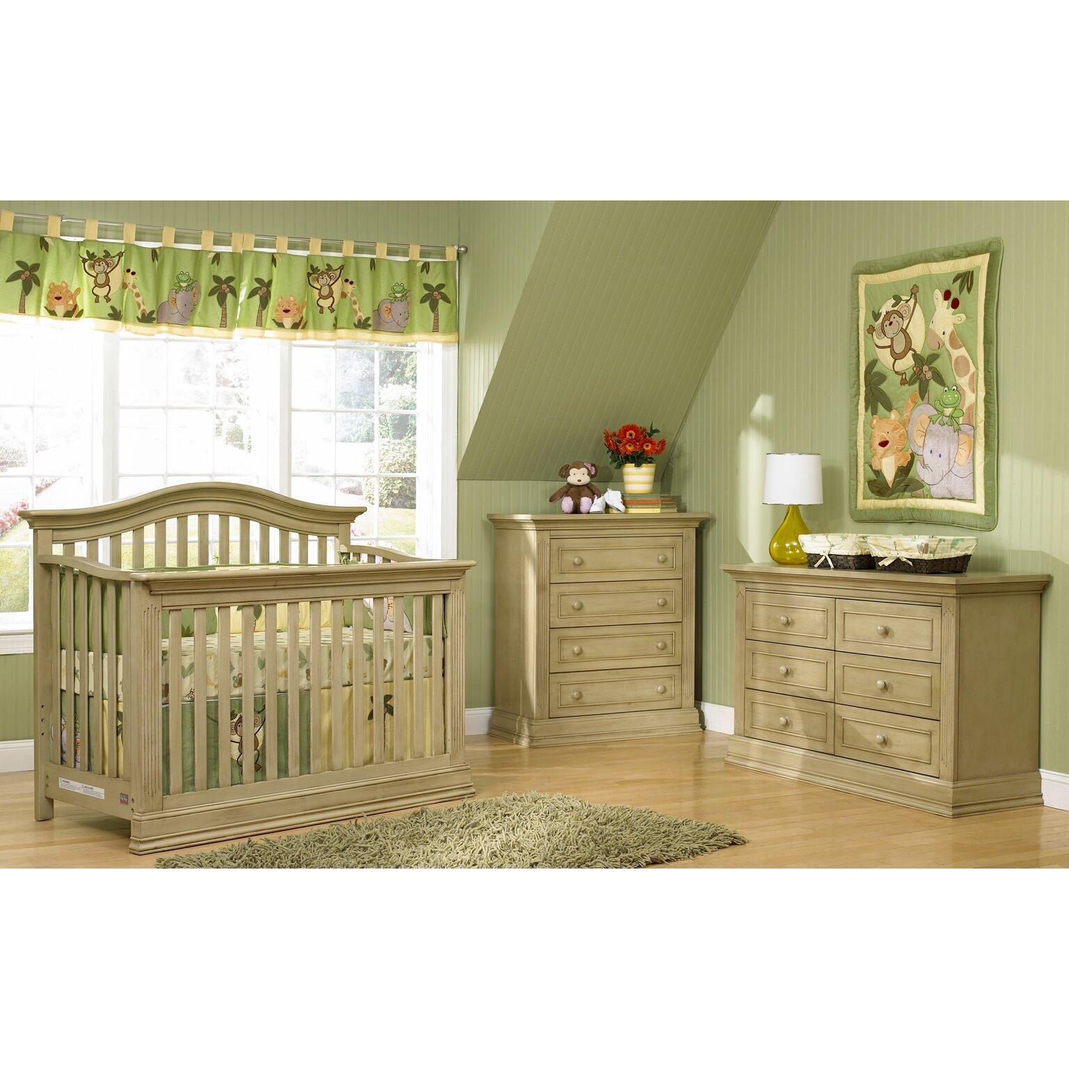 Suite Bebe Dakota Lifetime 4 In 1 Convertible Crib