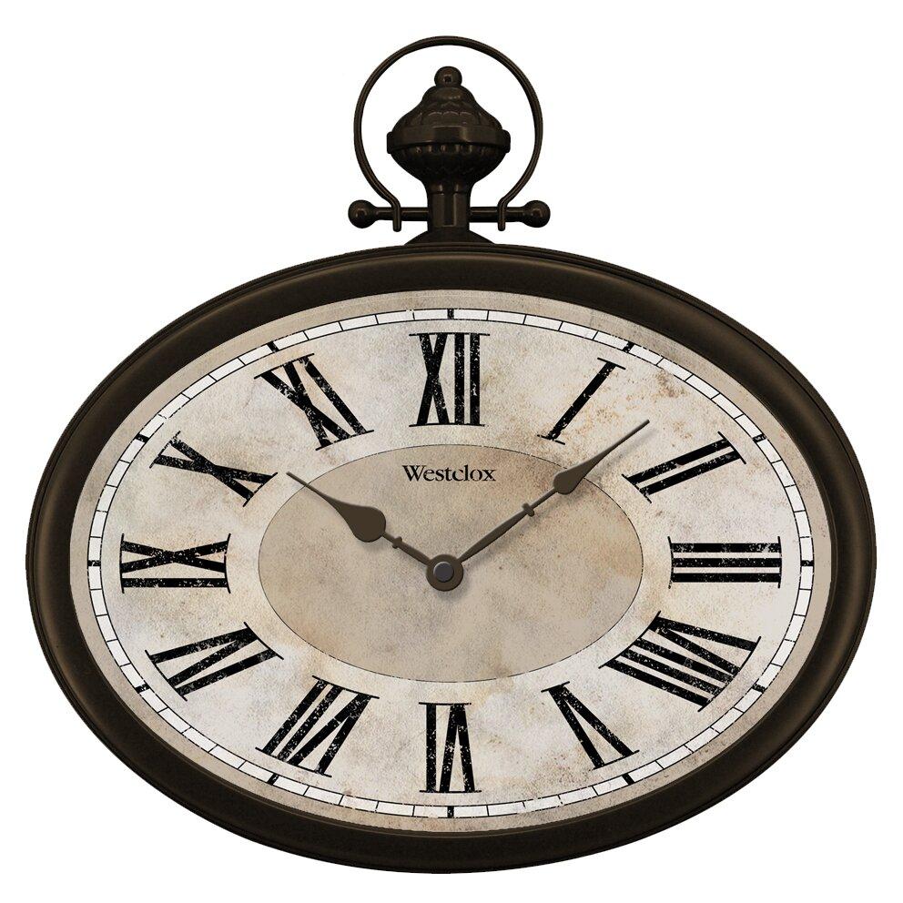 Westclox Westclox 15 5 Quot Pocket Watch Wall Clock Amp Reviews
