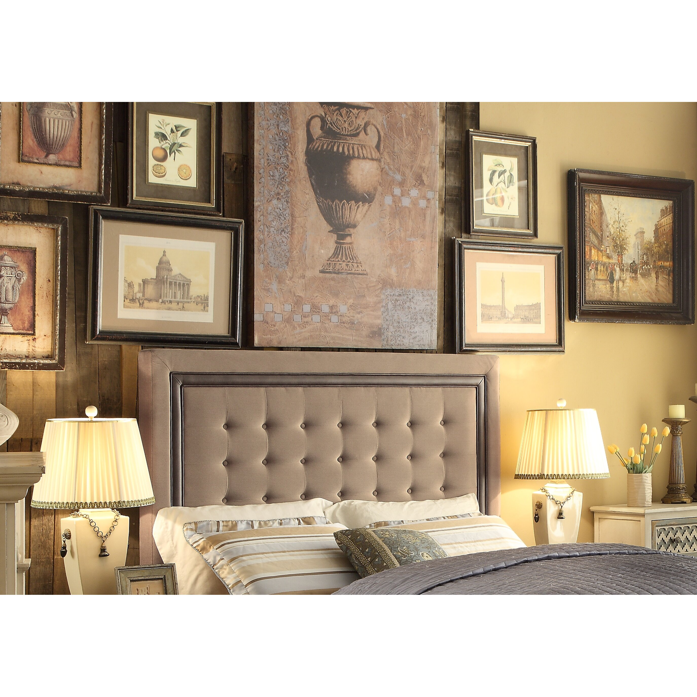 Mulhouse furniture hidalgo queen upholstery panel - Boutique free mulhouse ...
