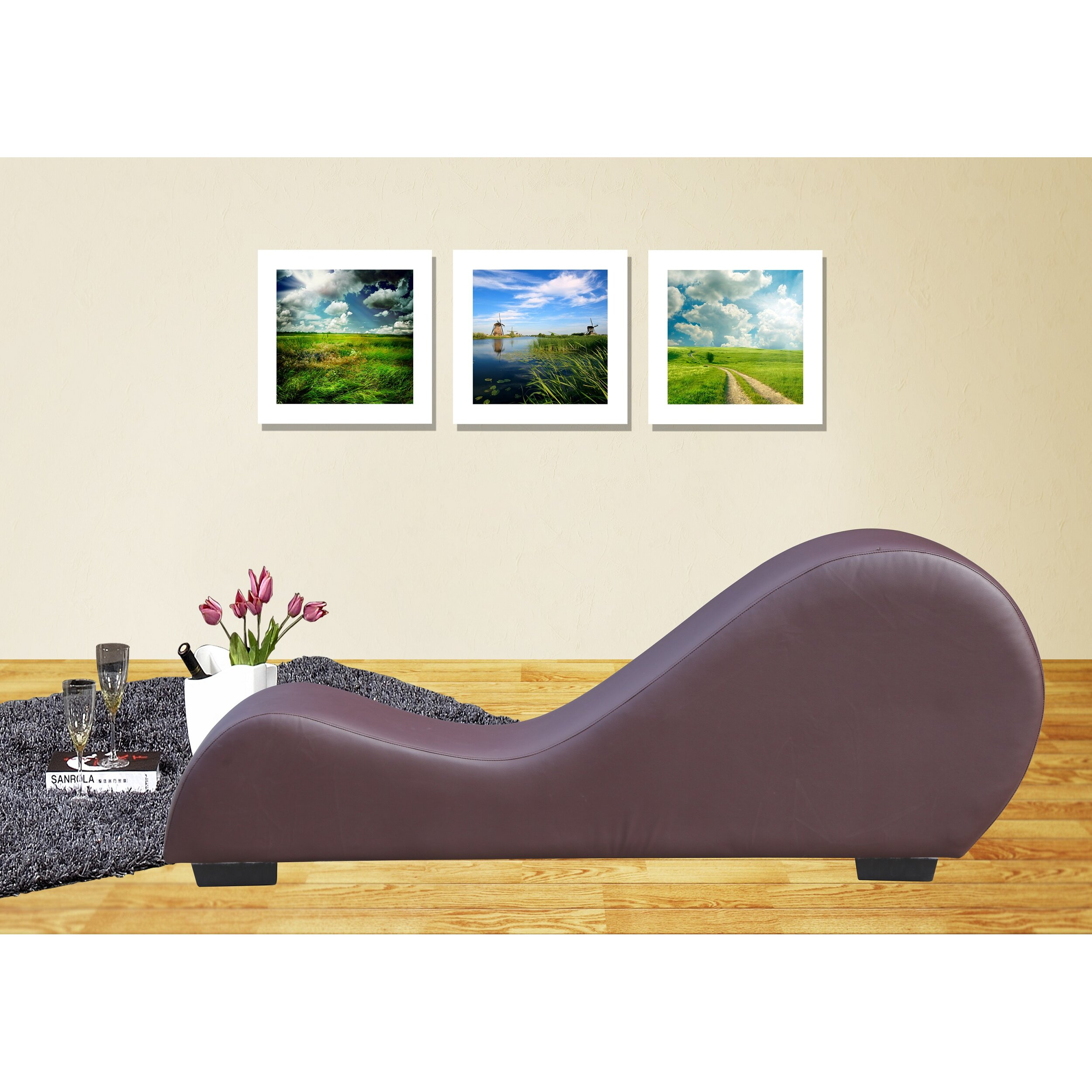 Container yoga chaise lounge reviews wayfair for Chaise yoga