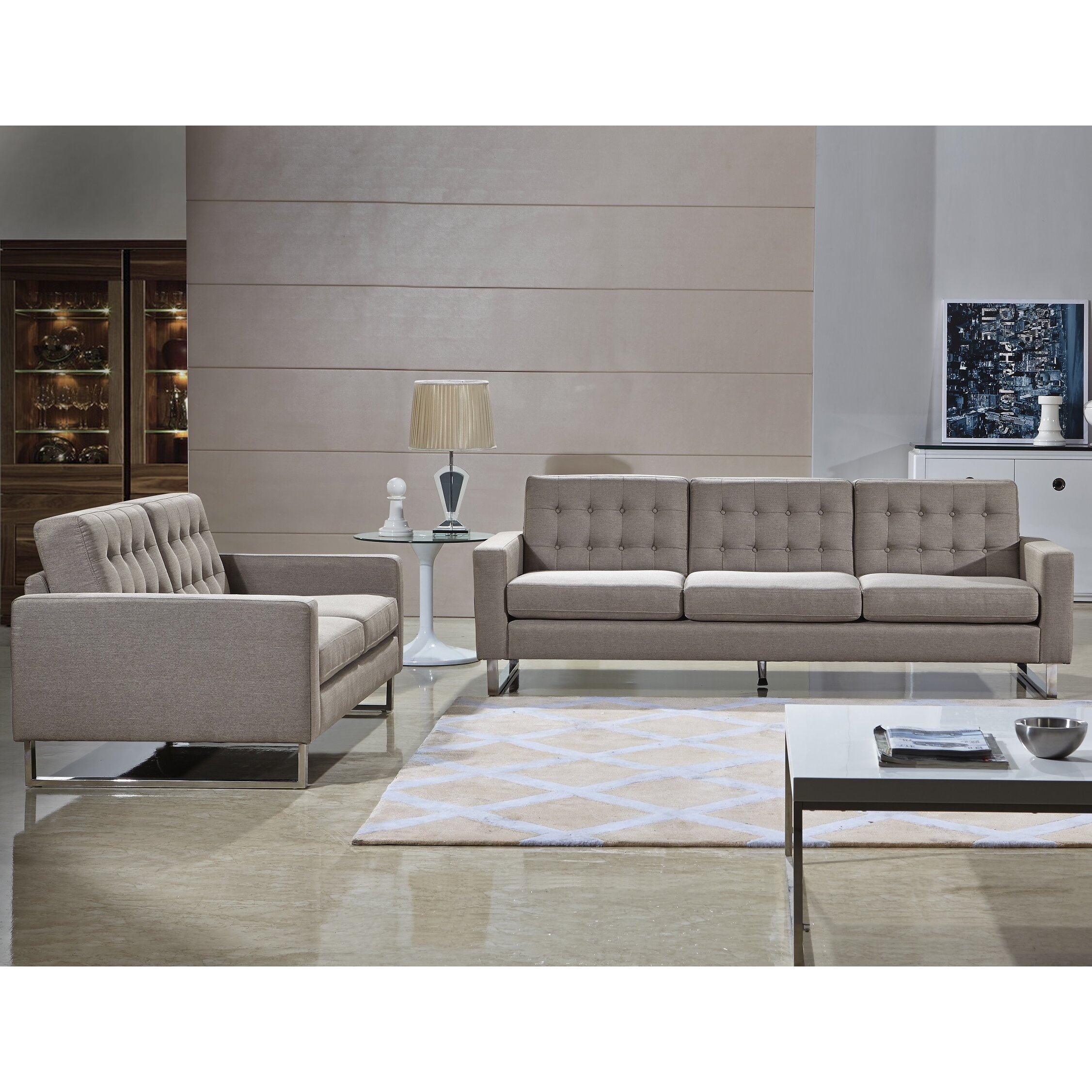 Aviano Sofa And Loveseat Set Revie Batar