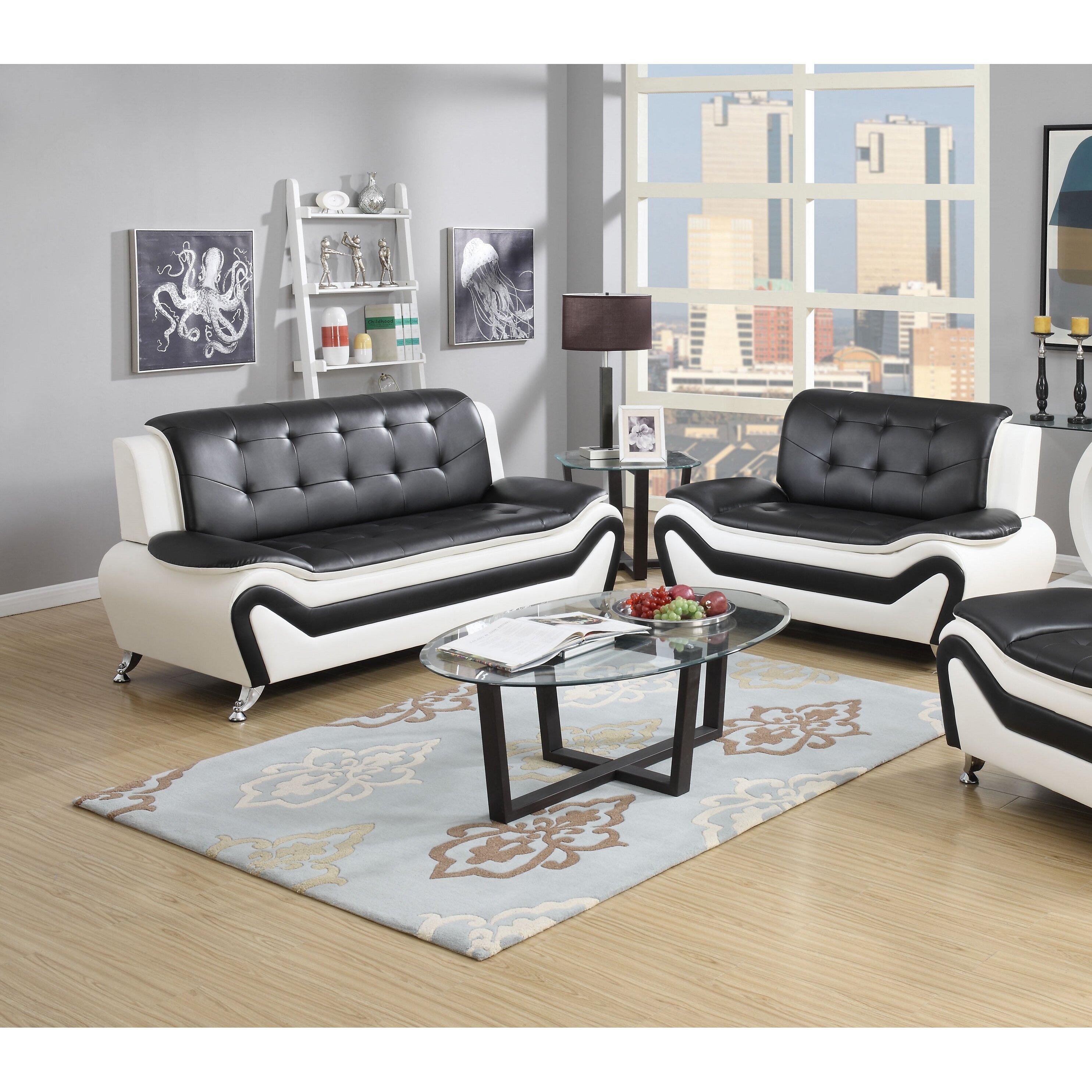 Container wanda 2 piece living room set reviews wayfair for 2 piece living room set