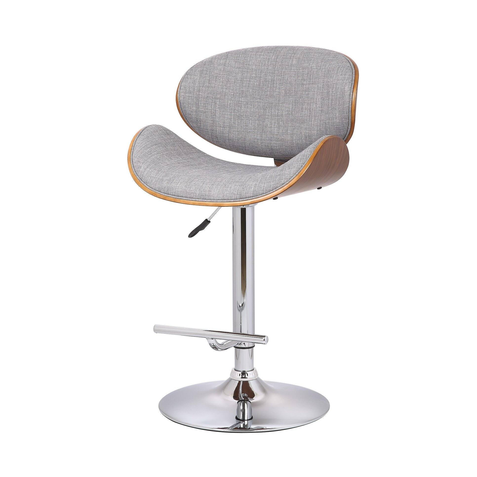 Container Adjustable Height Swivel Bar Stool Amp Reviews