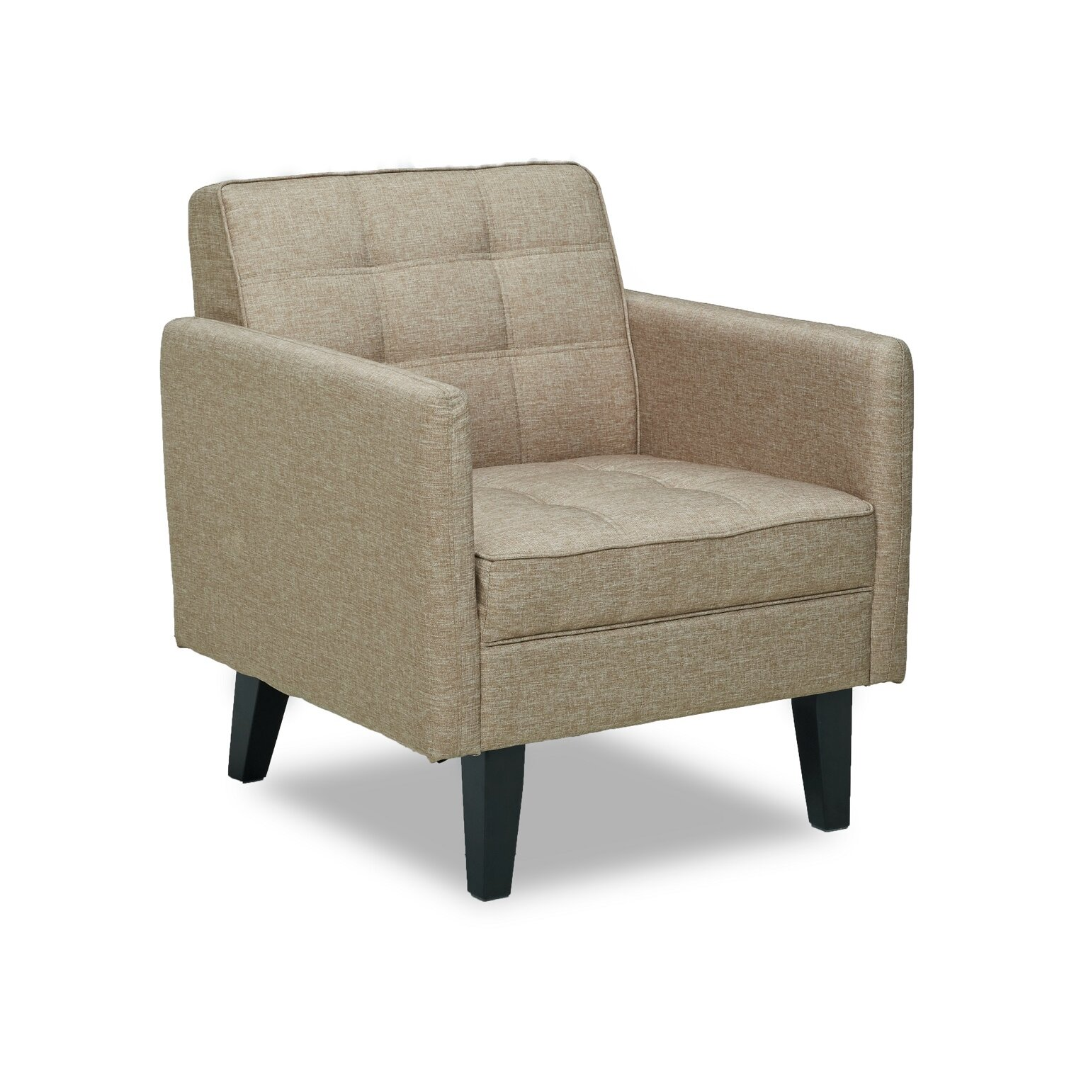 Container accent arm chair reviews wayfair for Occasional seating