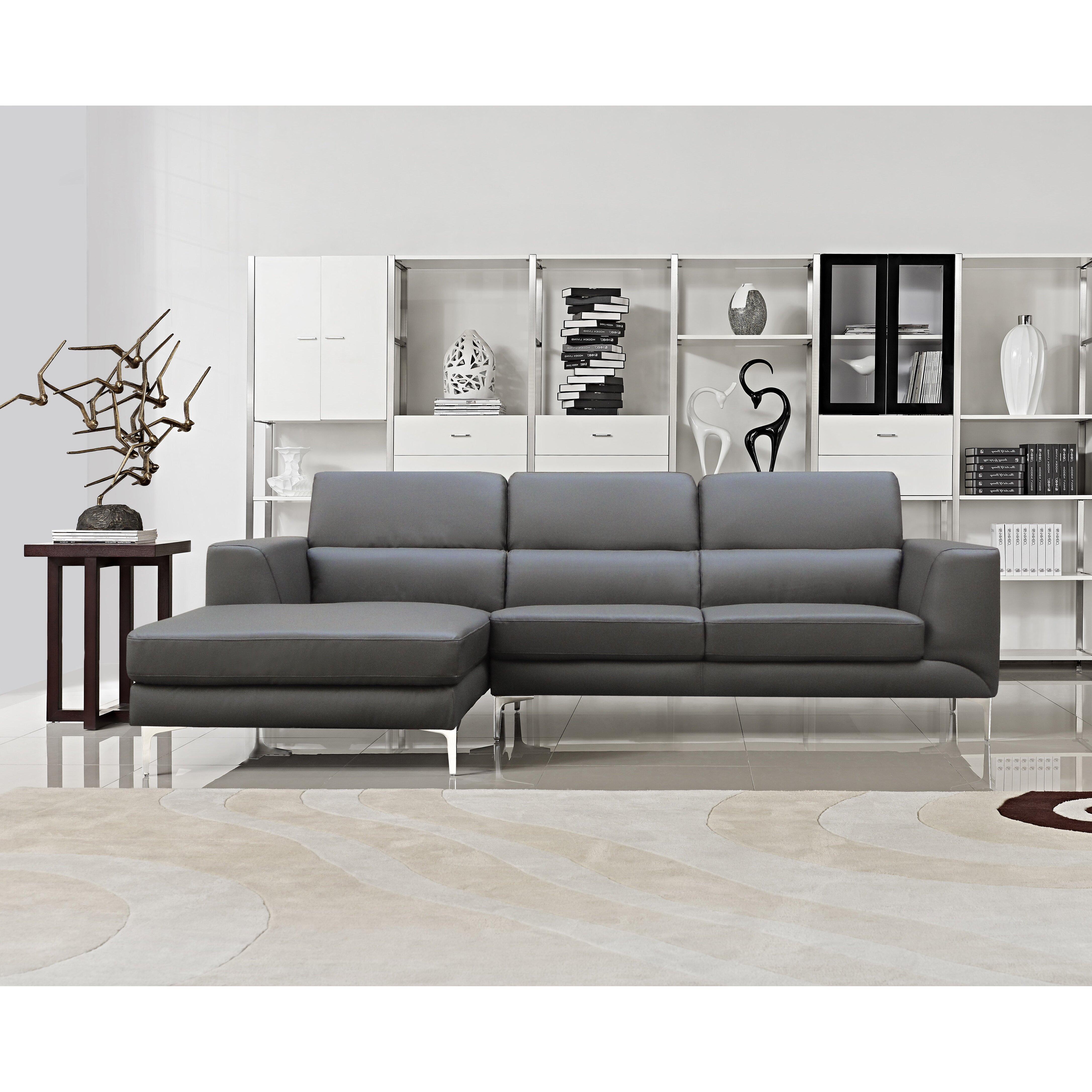 Container sectional reviews wayfair for Gray sectional sofa wayfair