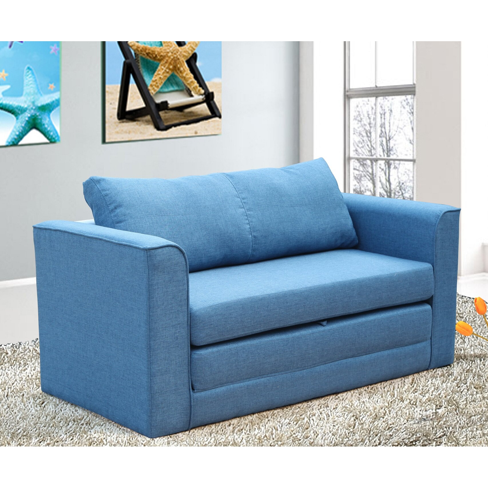 Container Reversible Sleeper Sofa & Reviews