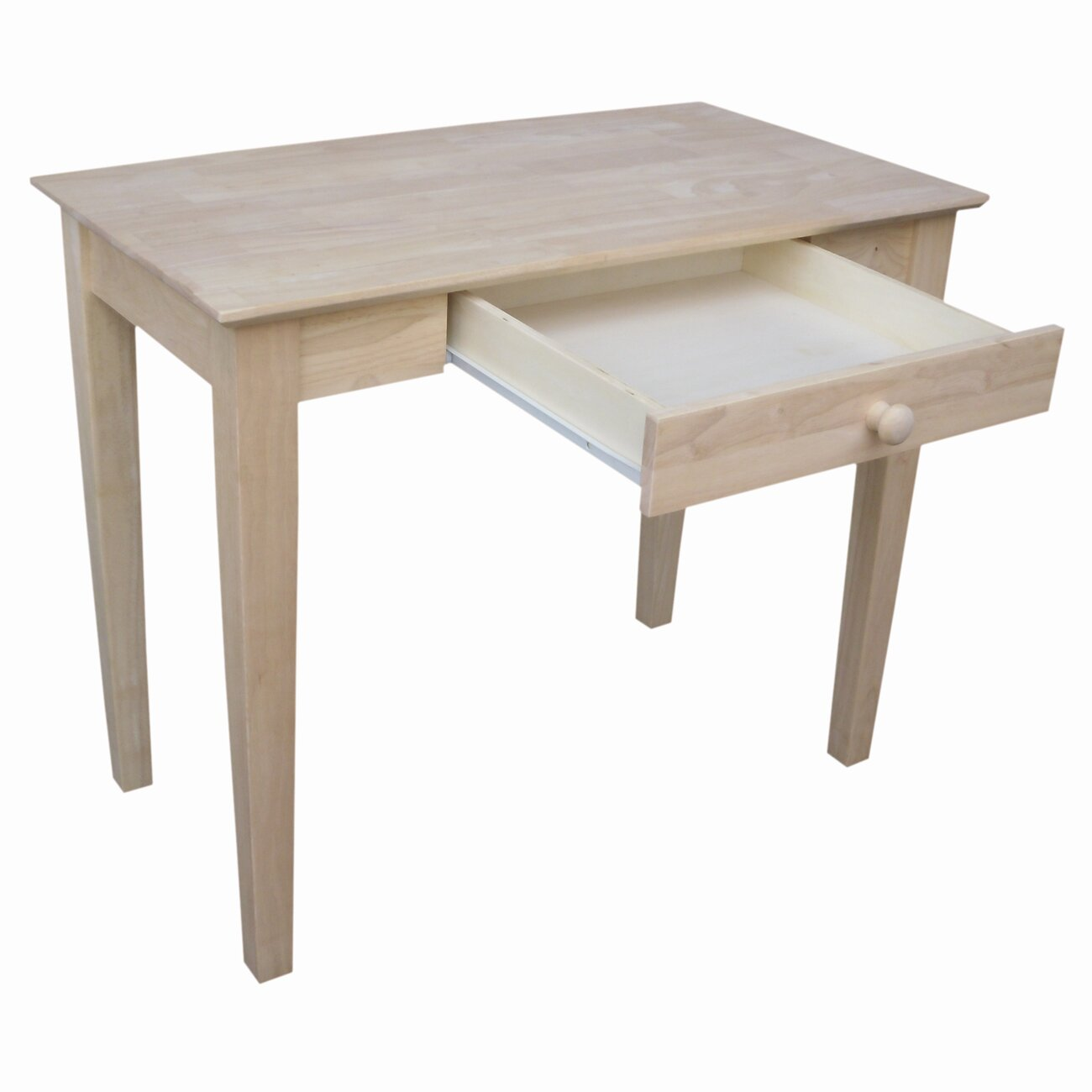 unfinished writing desk Buy international concepts of-41 writing desk, unfinished: home office desks - amazoncom free delivery possible on eligible purchases.