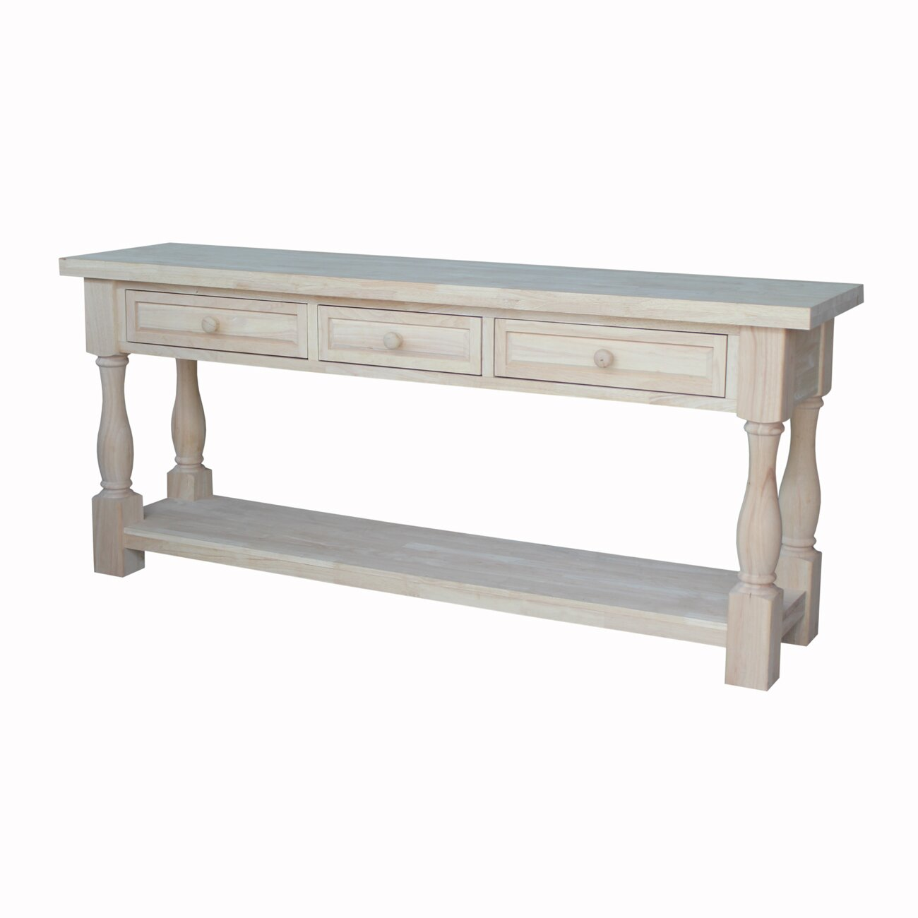 international concepts tuscan console table reviews. Black Bedroom Furniture Sets. Home Design Ideas