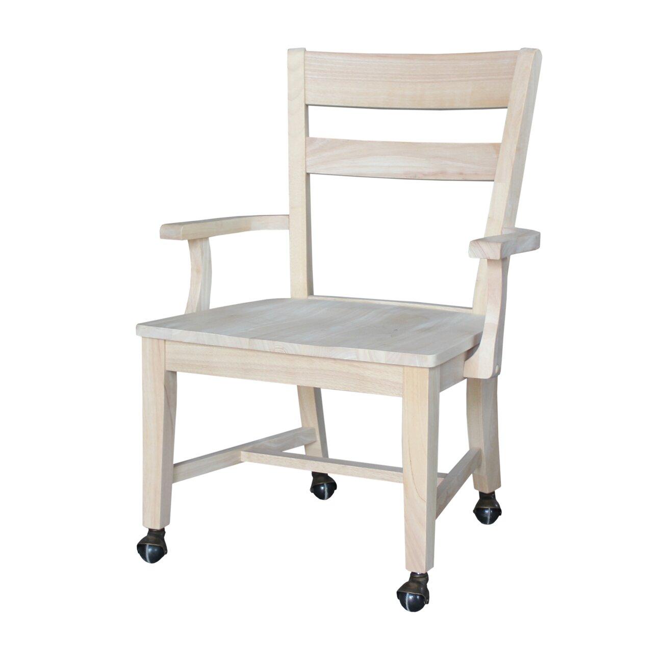 International Concepts Dining Desk Arm Chair Reviews Wayfair