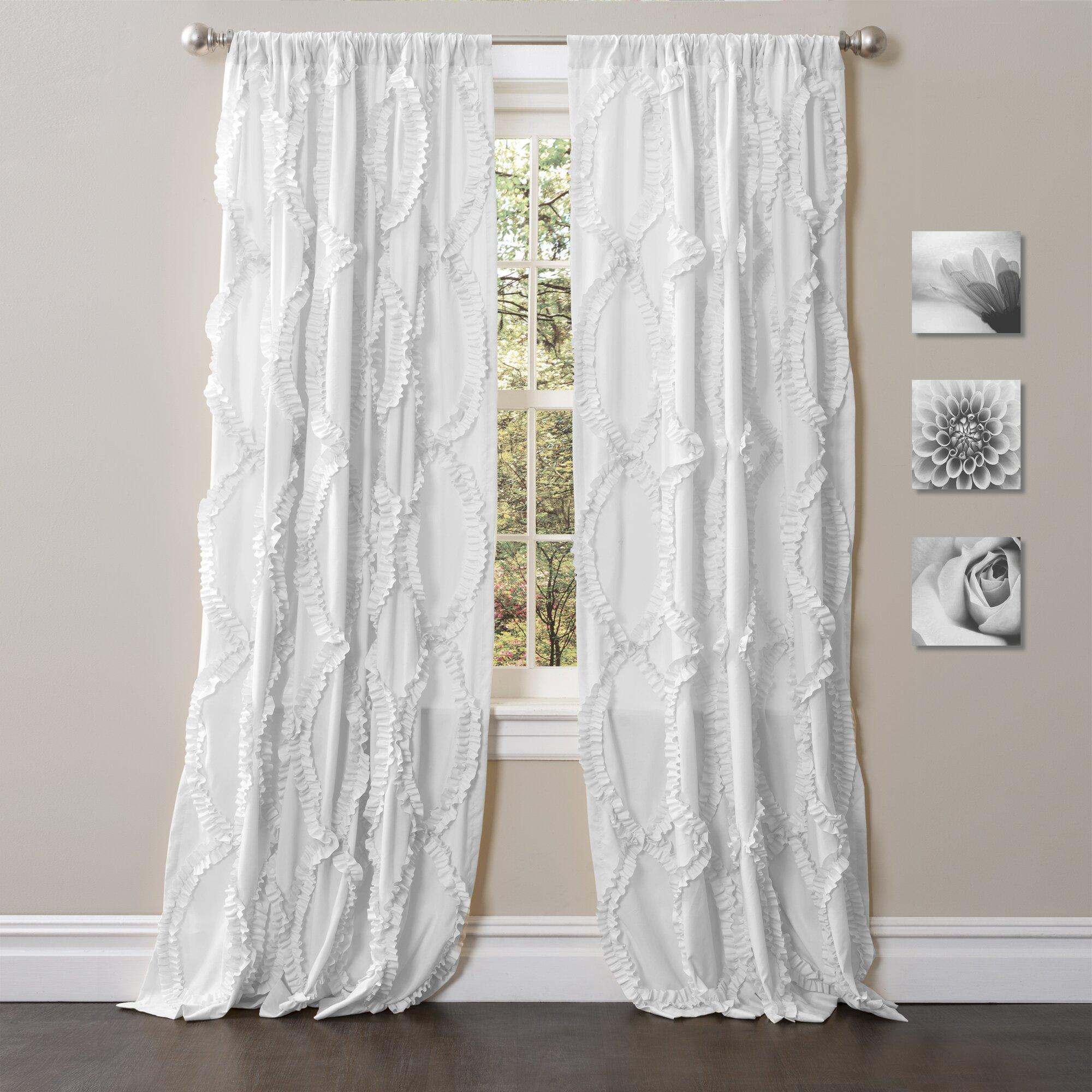 August Grove Eileen Light Filtering Single Curtain Panel