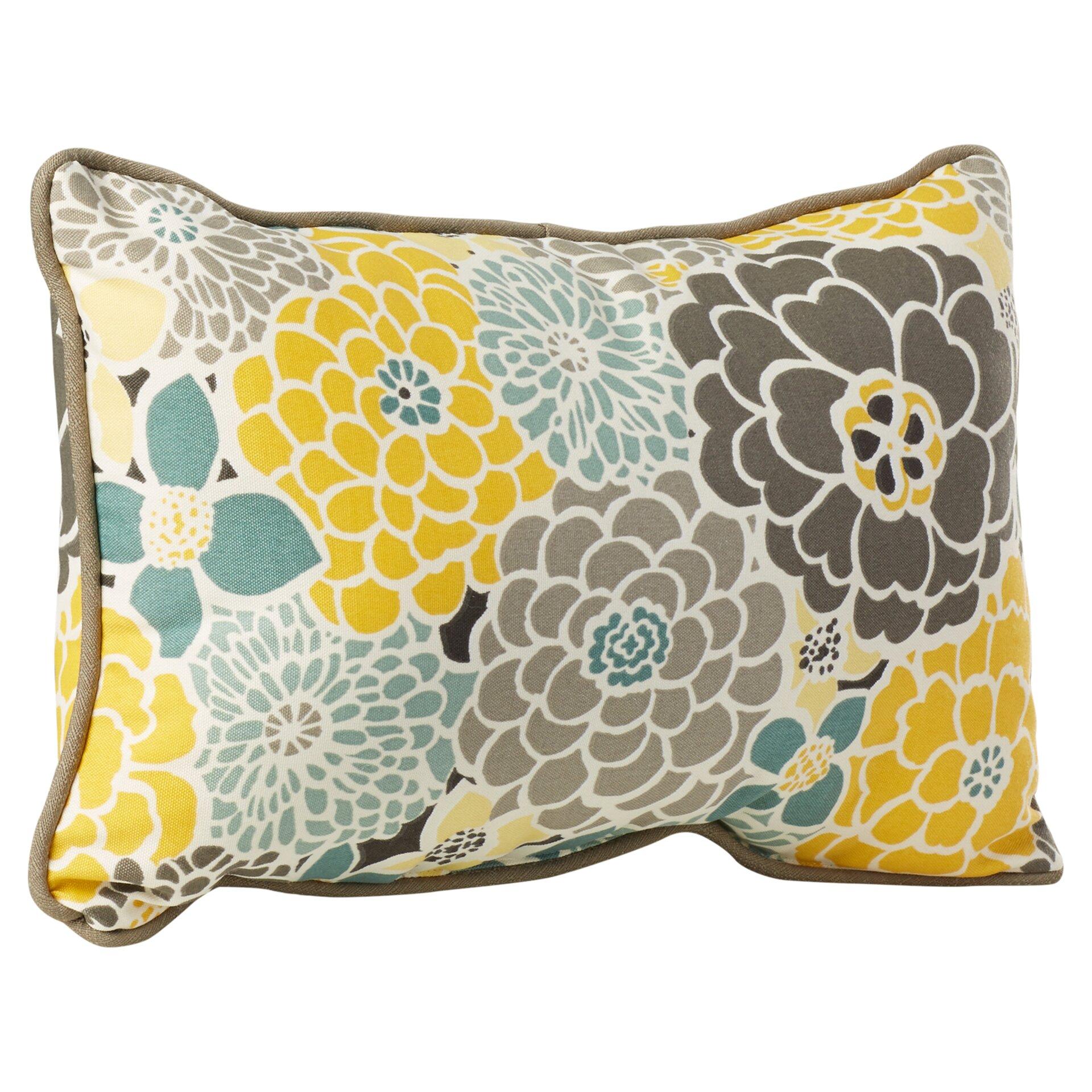 Decorative Outdoor Lumbar Pillows : August Grove Delta Indoor/Outdoor Lumbar Pillow & Reviews Wayfair