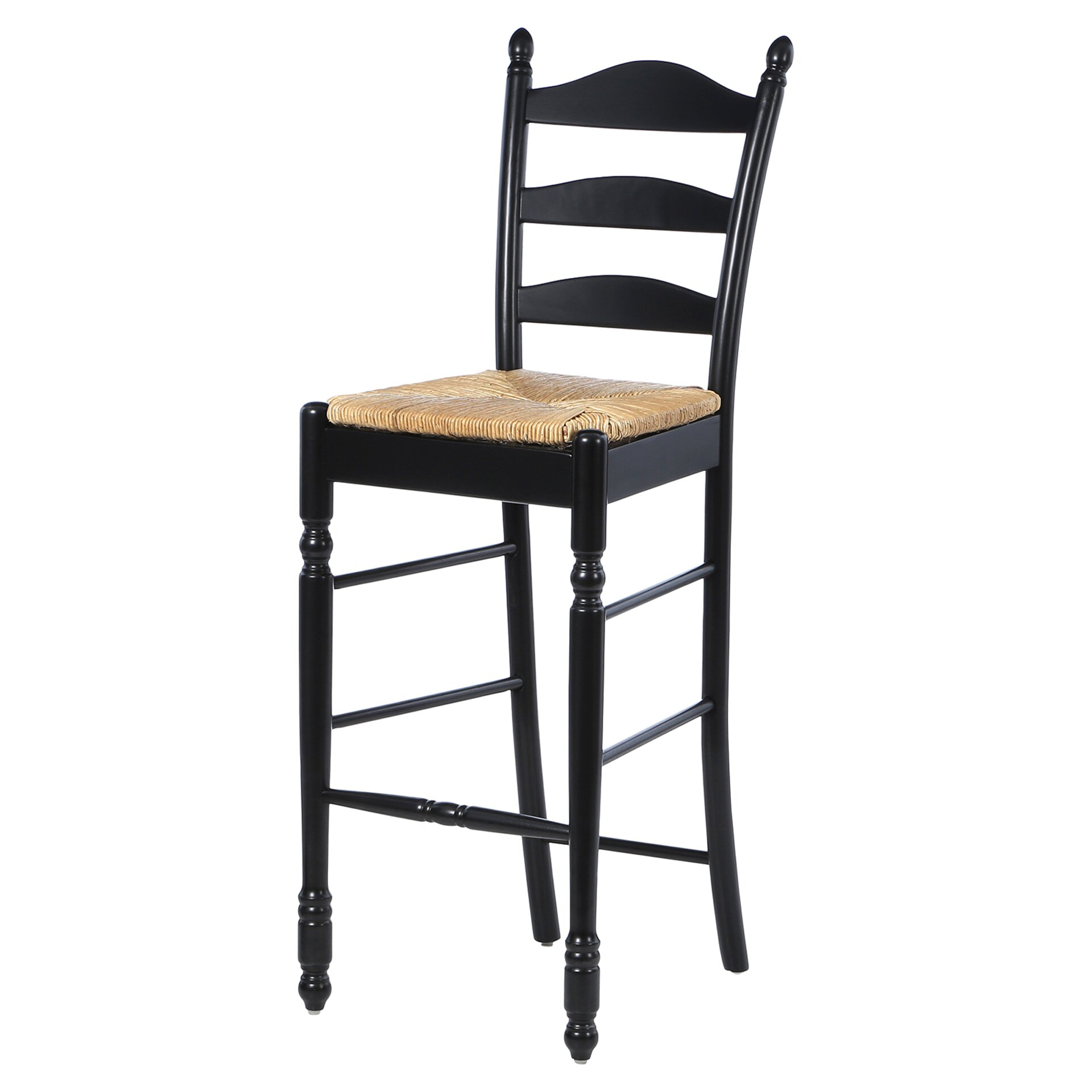 August Grove Erma 30 Quot Ladder Back Bar Stool Amp Reviews