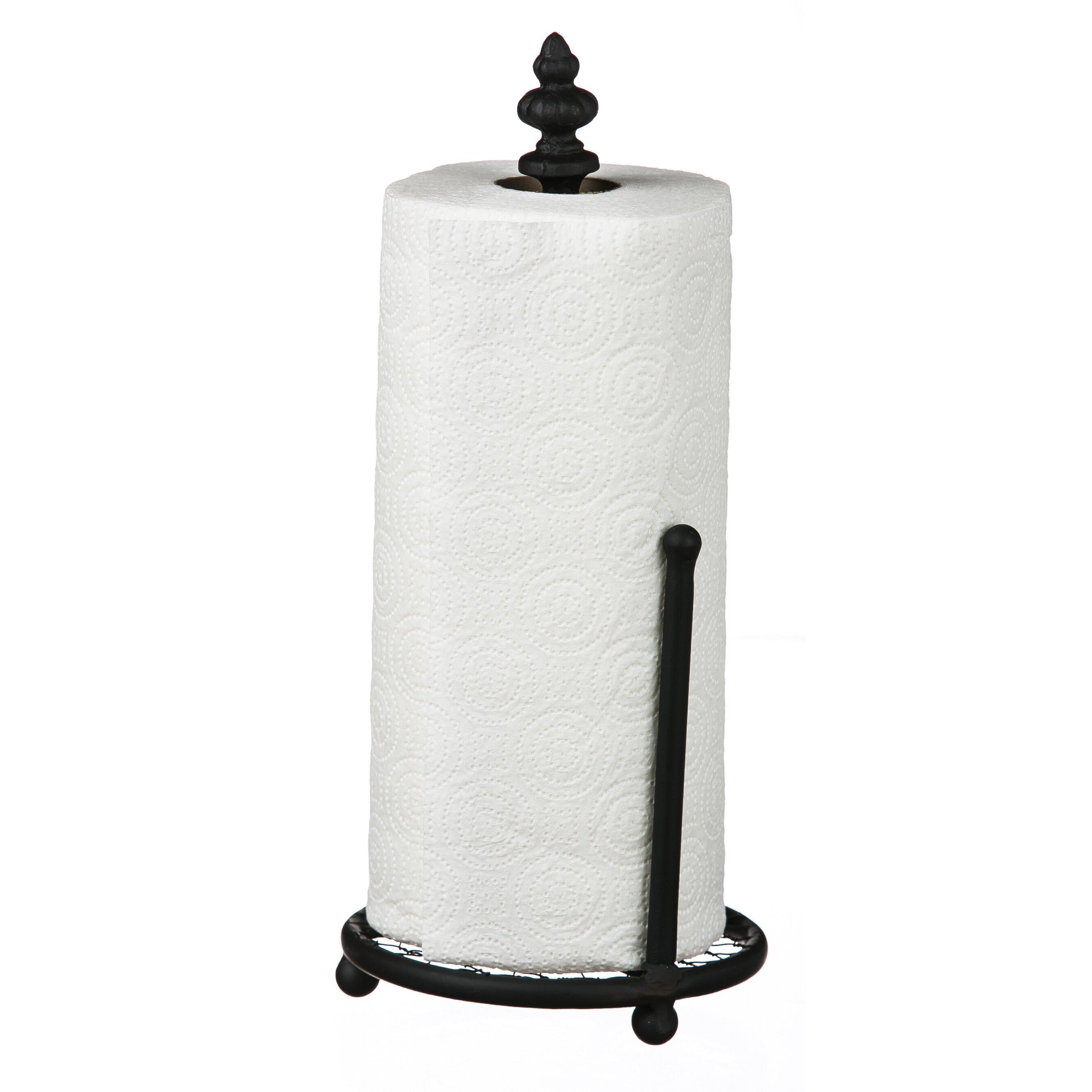 August Grove Metal Paper Towel Holder & Reviews  Wayfair. Jeffrey Alexander Hardware. Stone Shop. Home Goods Table Lamps. Hardwood Stairs. Pioneer Linens. Cabinet Pull Handles. Built In Range. Cream Leather Sofa