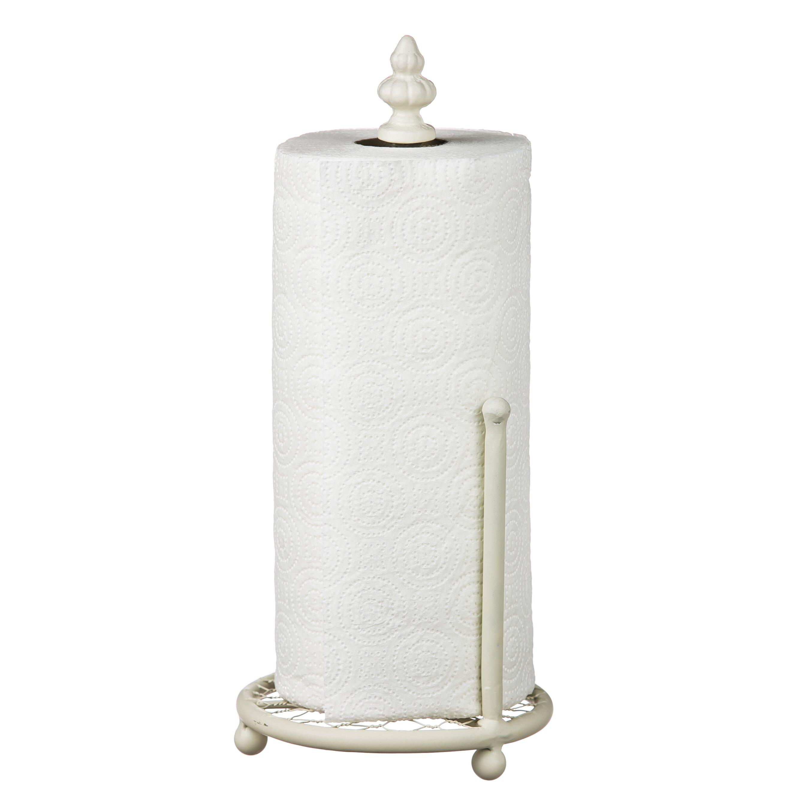 August Grove Metal Paper Towel Holder Amp Reviews Wayfair