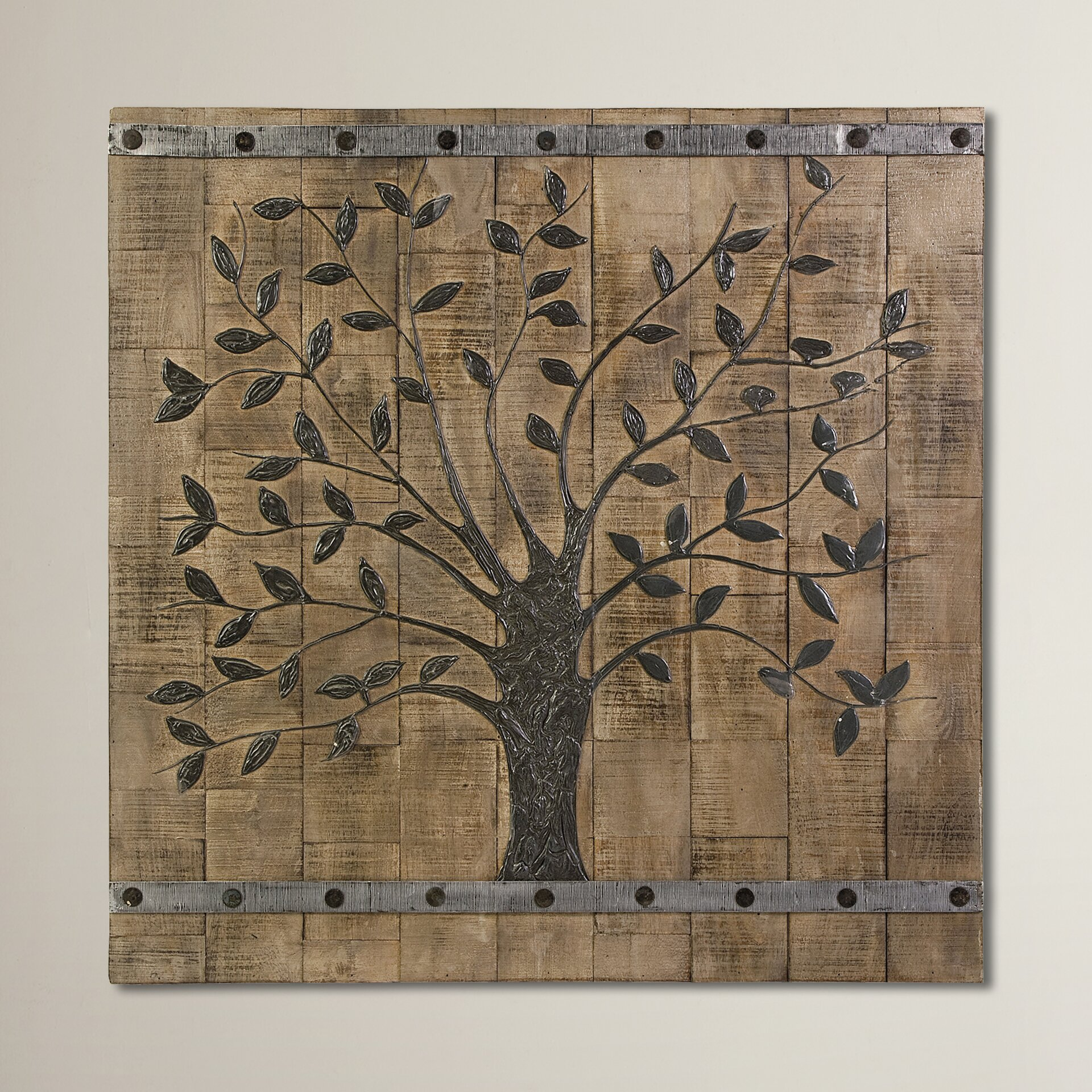august grove tallapoosa tree of life panel wall d cor. Black Bedroom Furniture Sets. Home Design Ideas