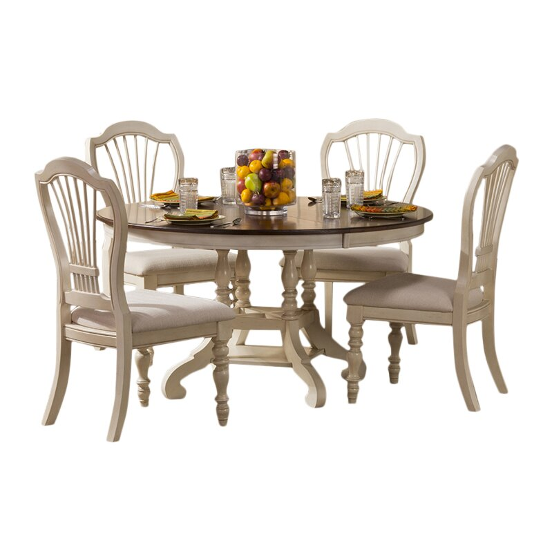August Grove Mertie 5 Piece Dining Set Reviews Wayfair
