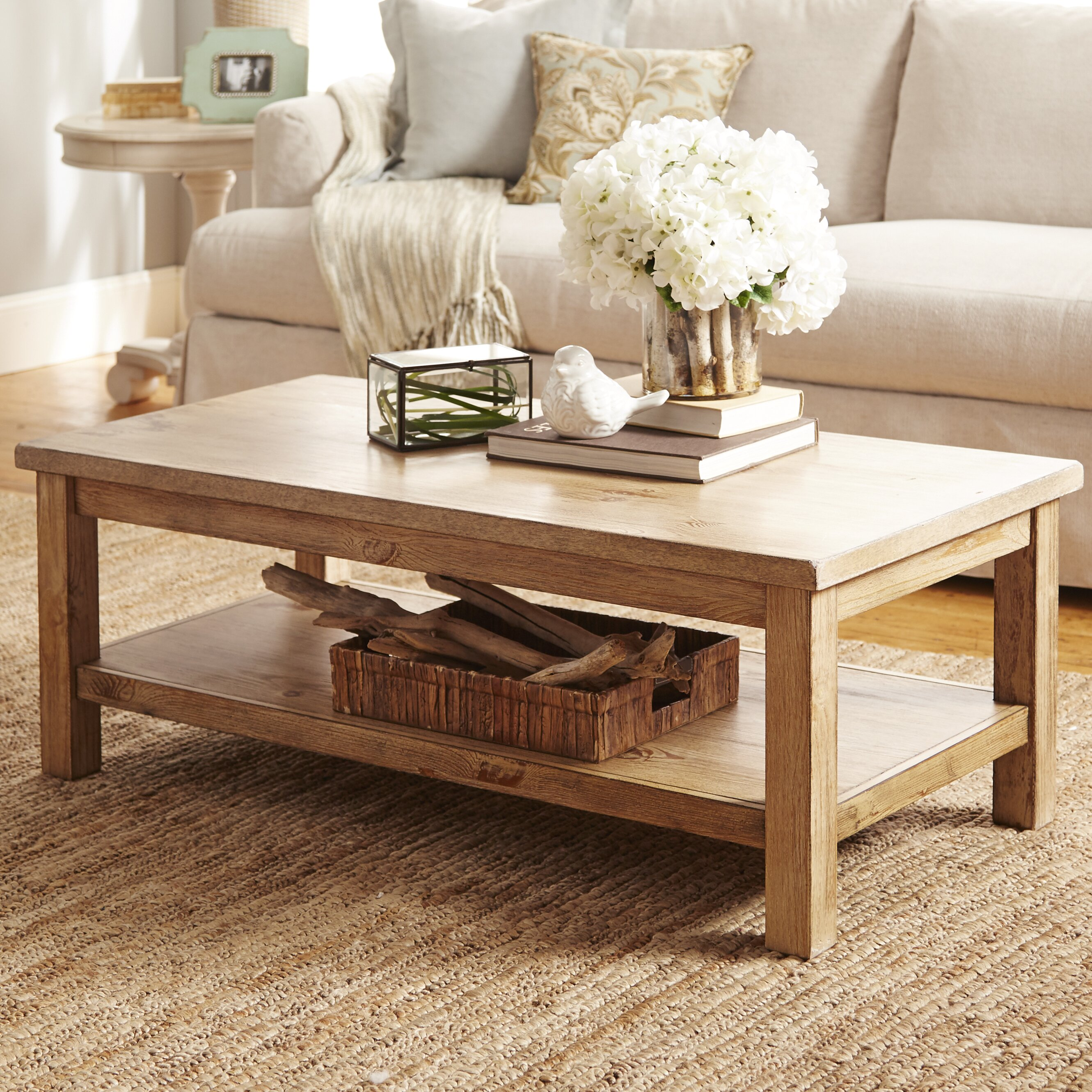 Wayfair Table: August Grove Flores Coffee Table & Reviews