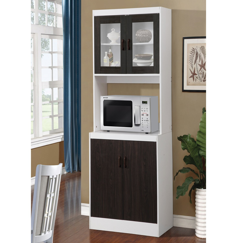 August grove elva kitchen cabinet in white reviews wayfair for Wayfair kitchen cabinets