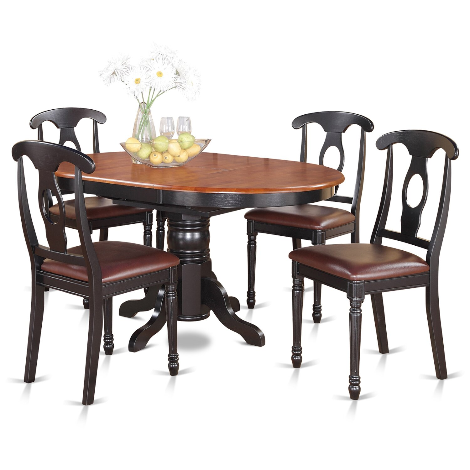 August grove aimee 5 piece dining set reviews wayfair for 5 piece dining set
