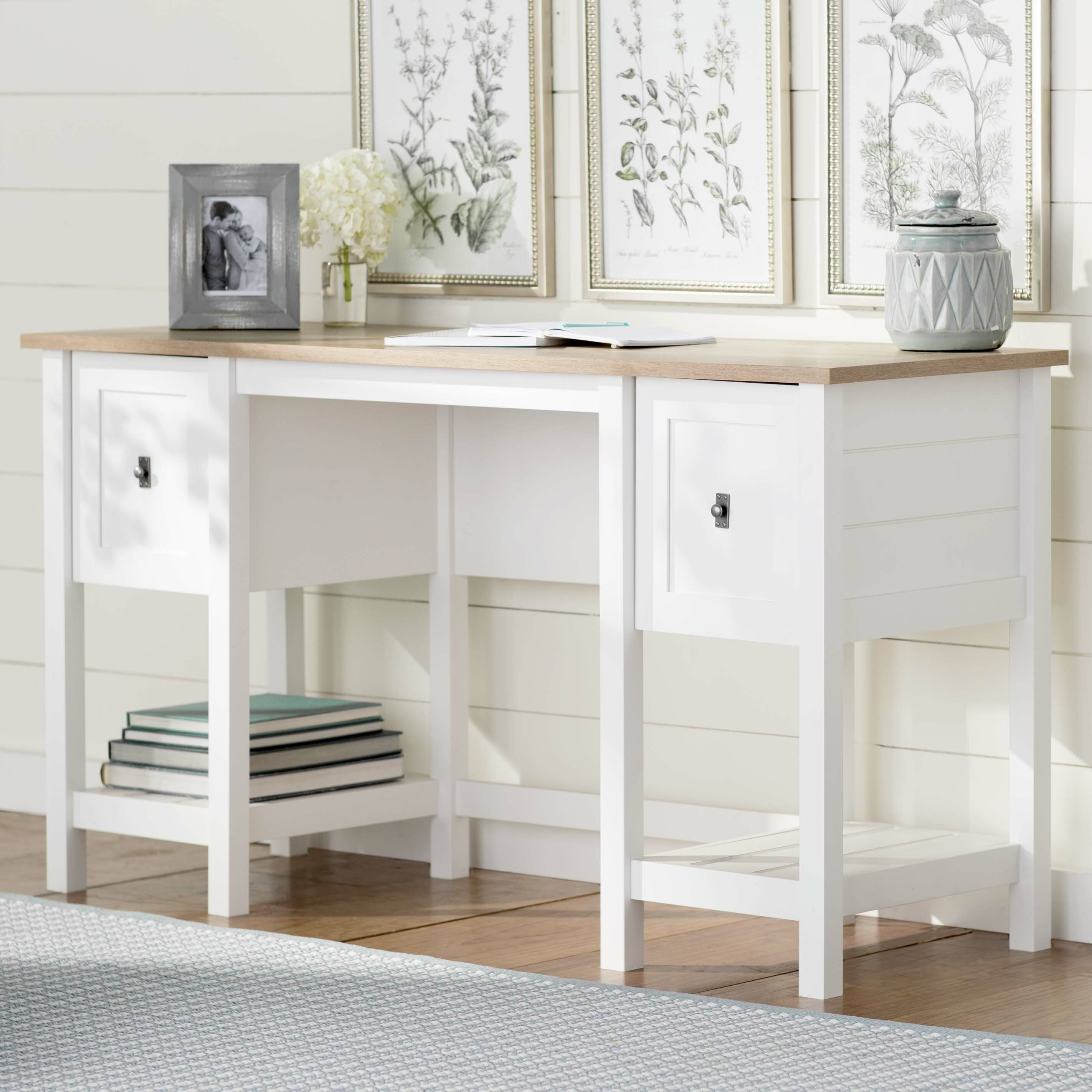 Beachcrest Home Mifflin Writing Desk & Reviews
