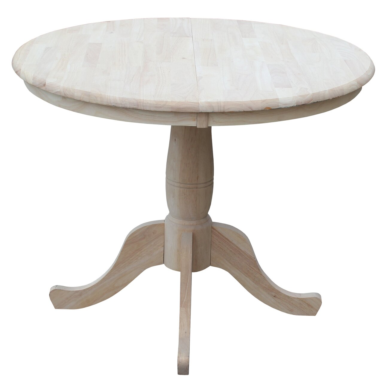 august grove 30 extendable round pedestal dining table reviews