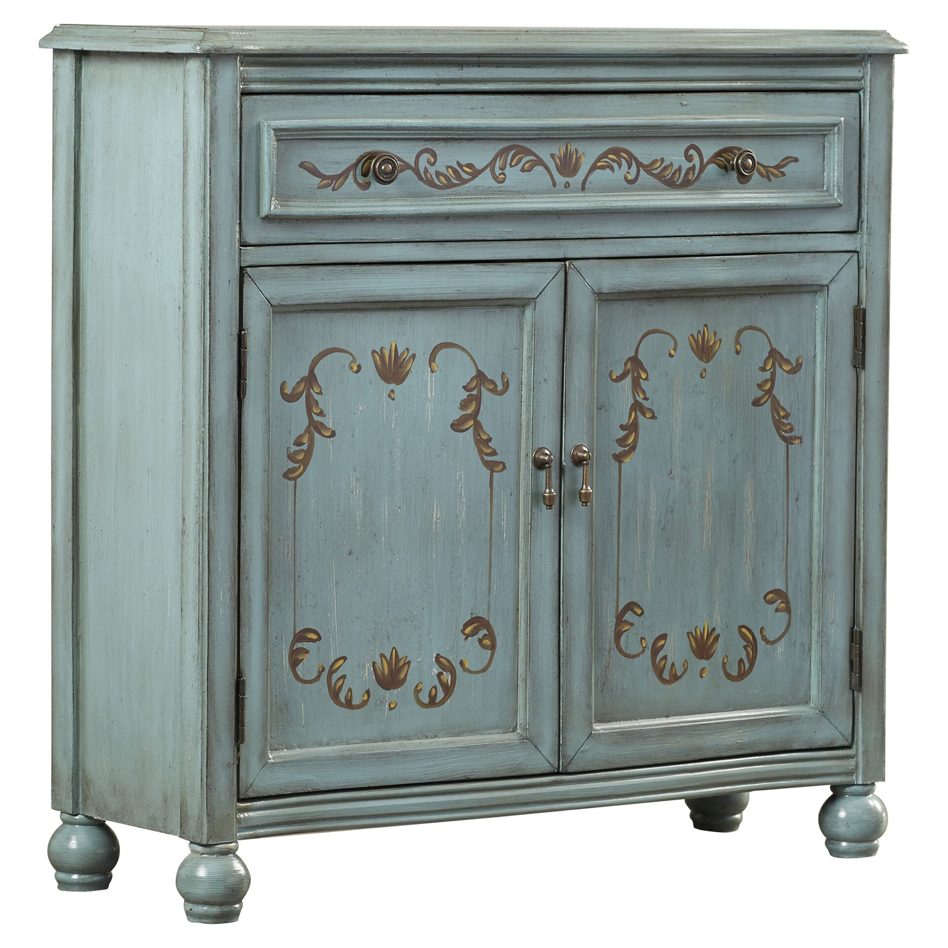 One Allium Way Lotta 1 Drawer 2 Door Accent Cabinet