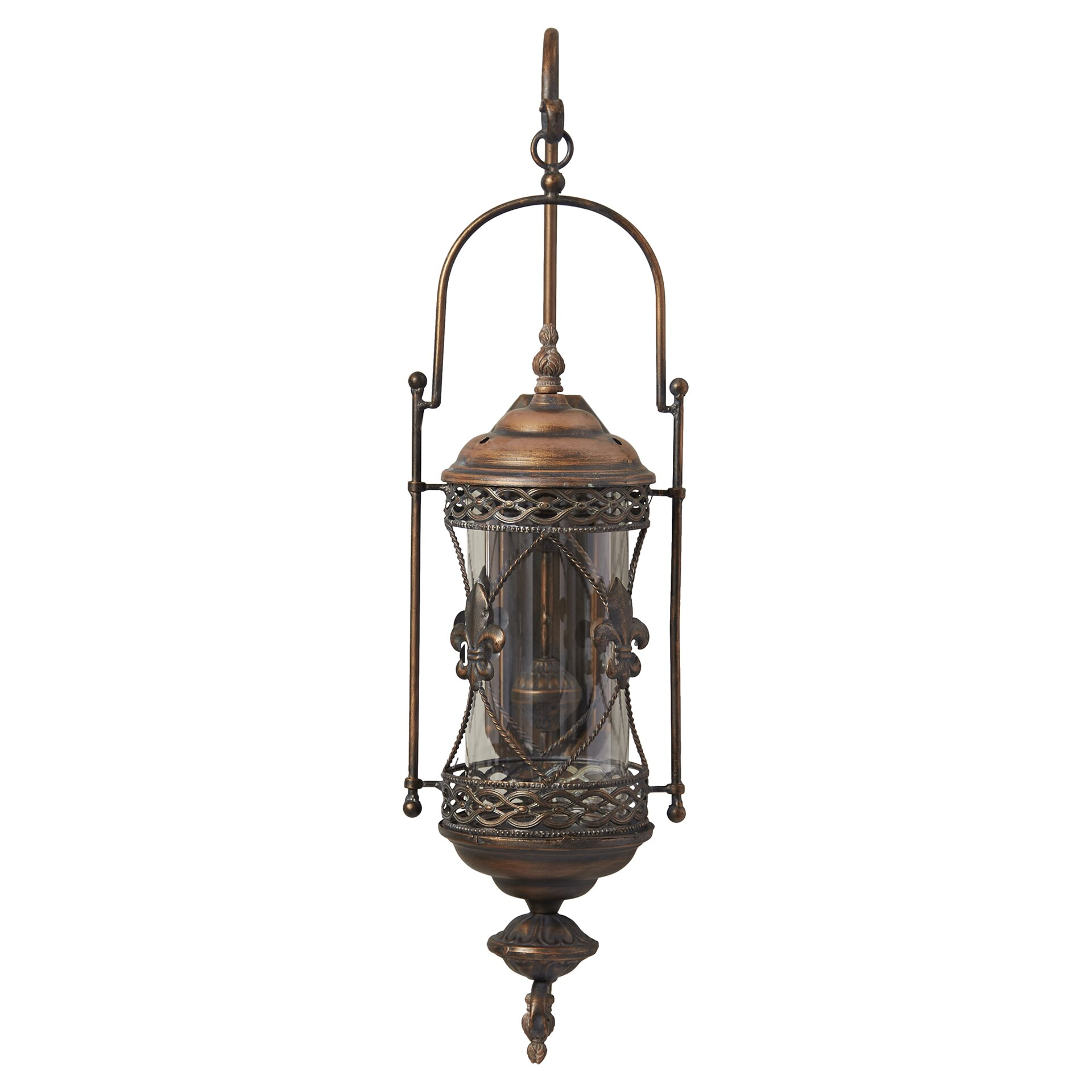One Allium Way Mariana Candle Lantern Wall Sconce & Reviews Wayfair