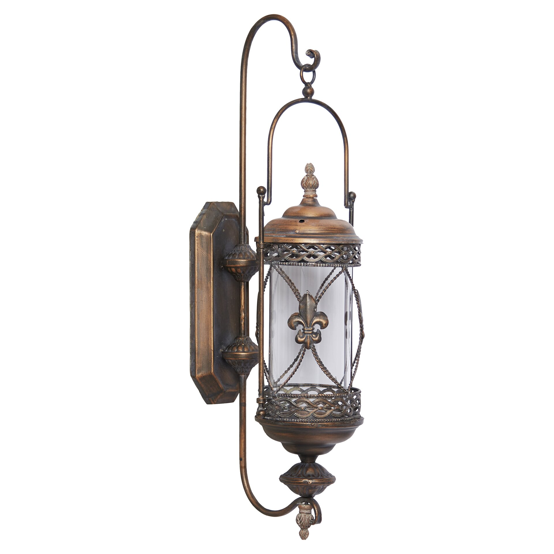 One Allium Way Mariana Candle Lantern Wall Sconce