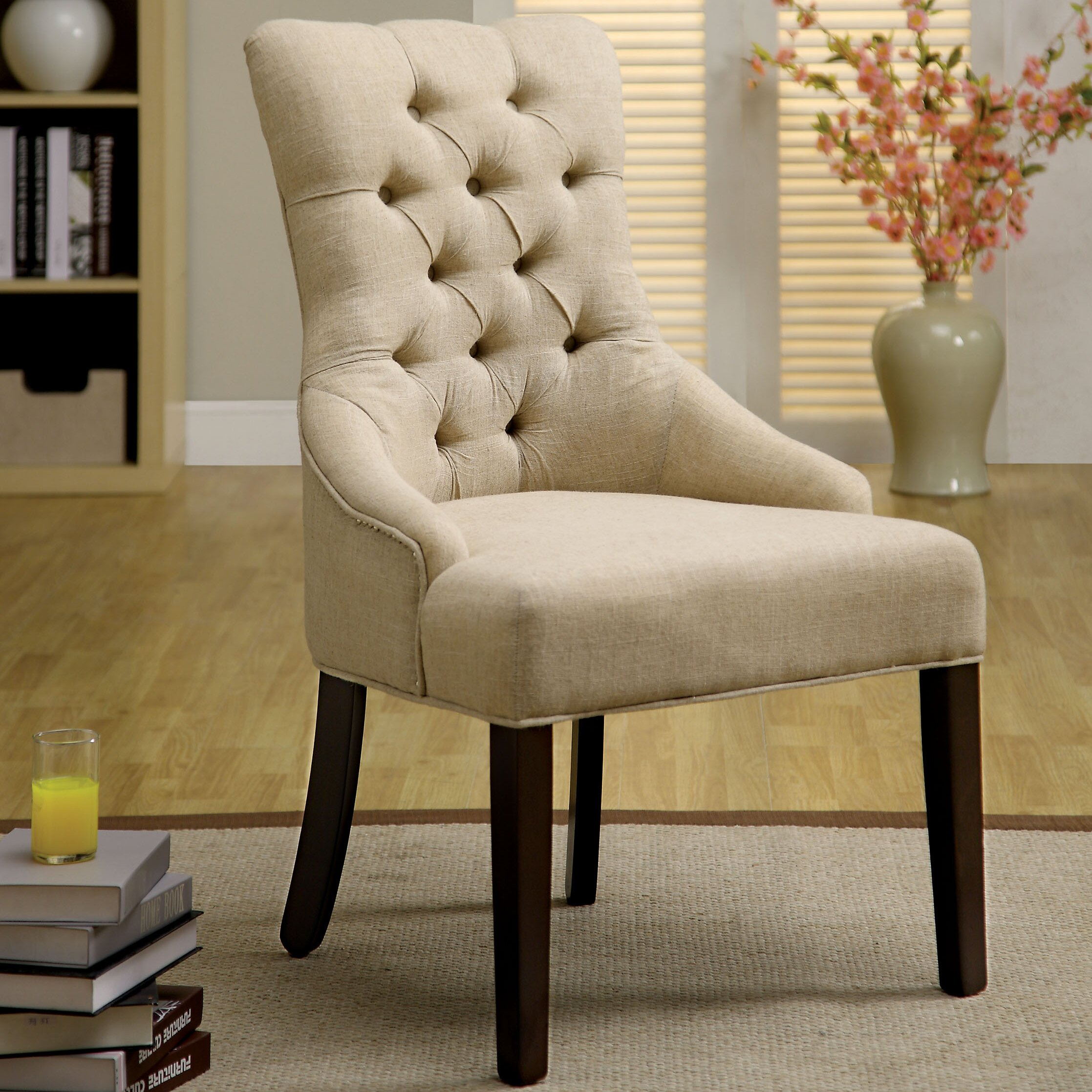 One Allium Way Ladue Side Chair Reviews Wayfair
