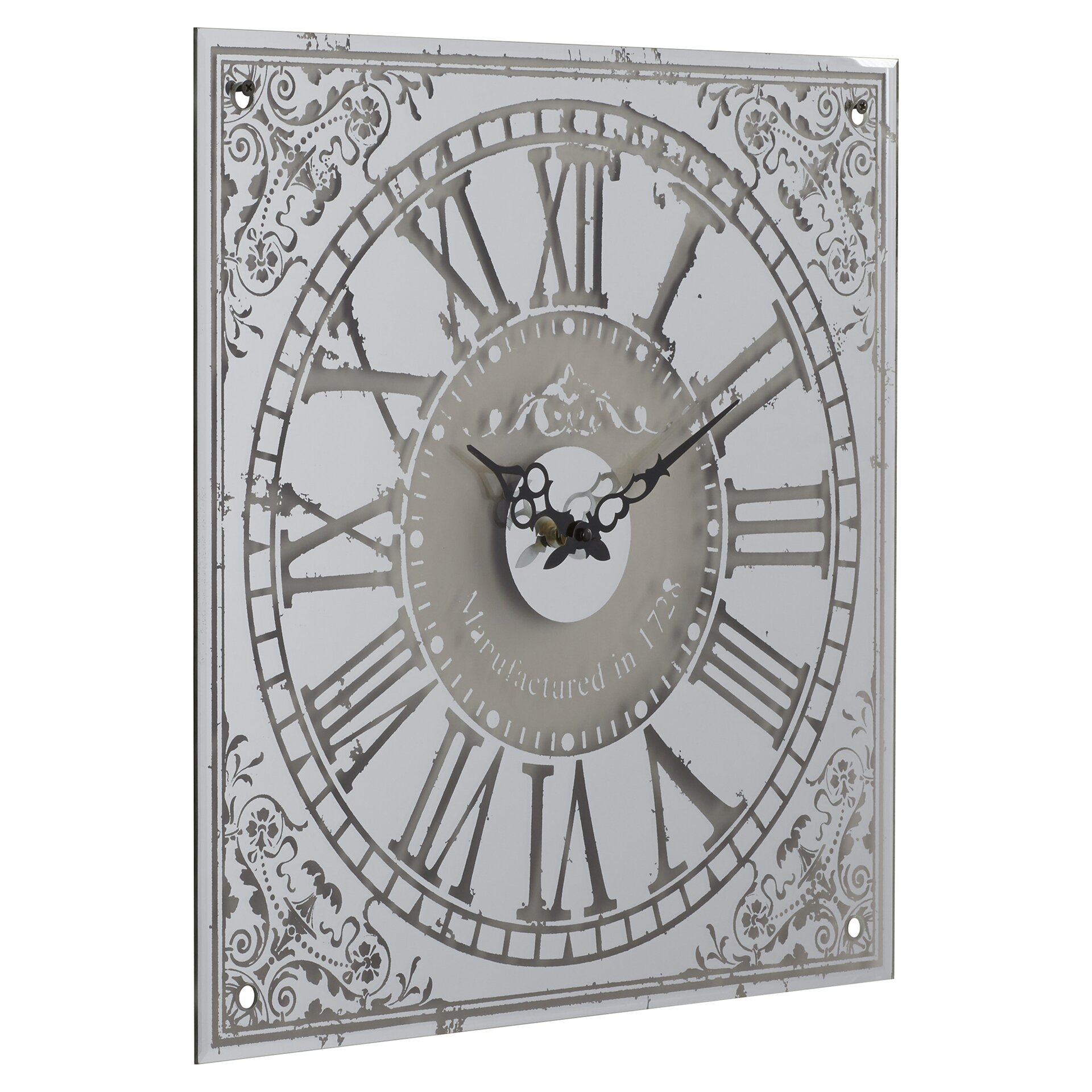 one allium way french country wall clock reviews wayfair
