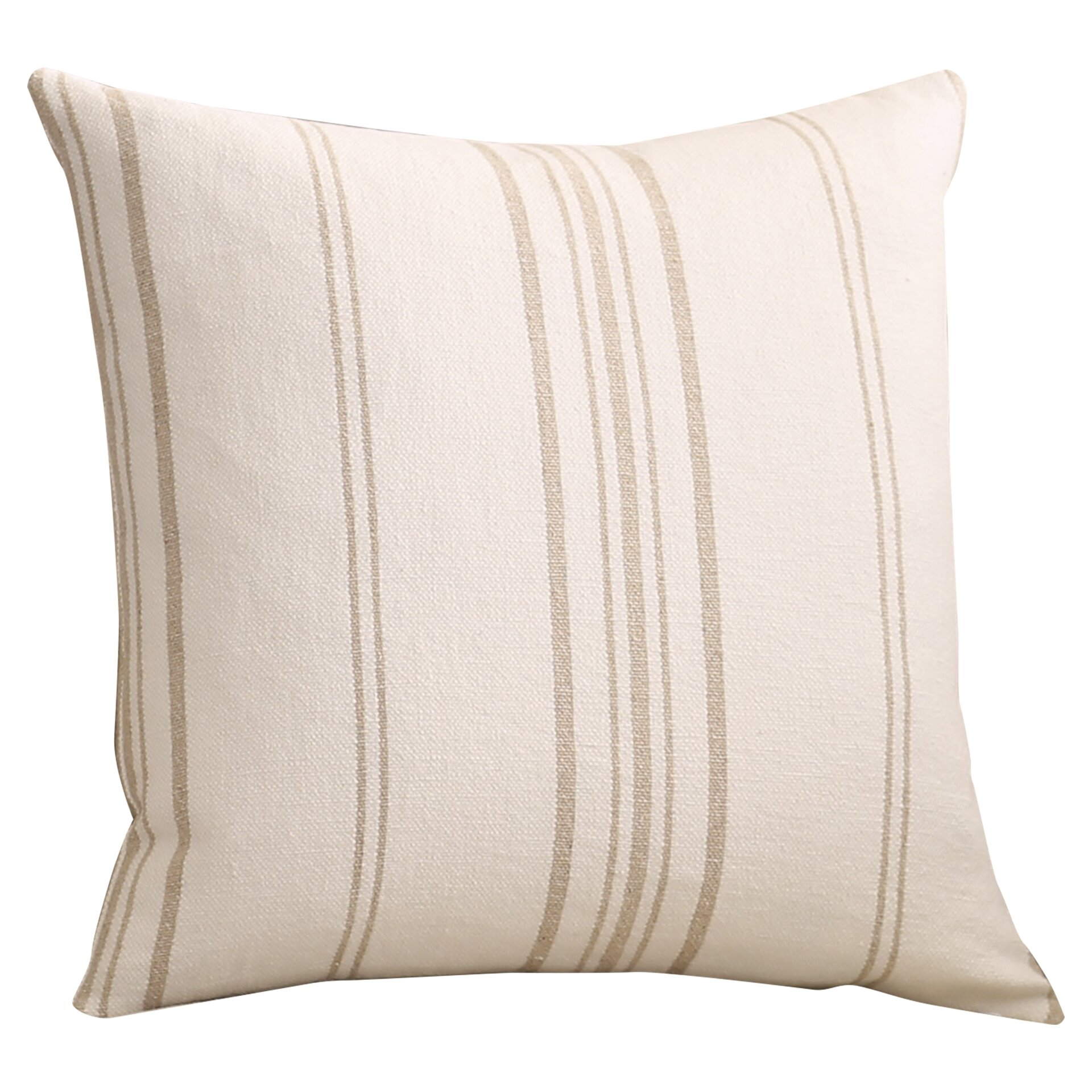 Striped Linen Throw Pillow : One Allium Way Lilla Stripes Linen Throw Pillow & Reviews Wayfair