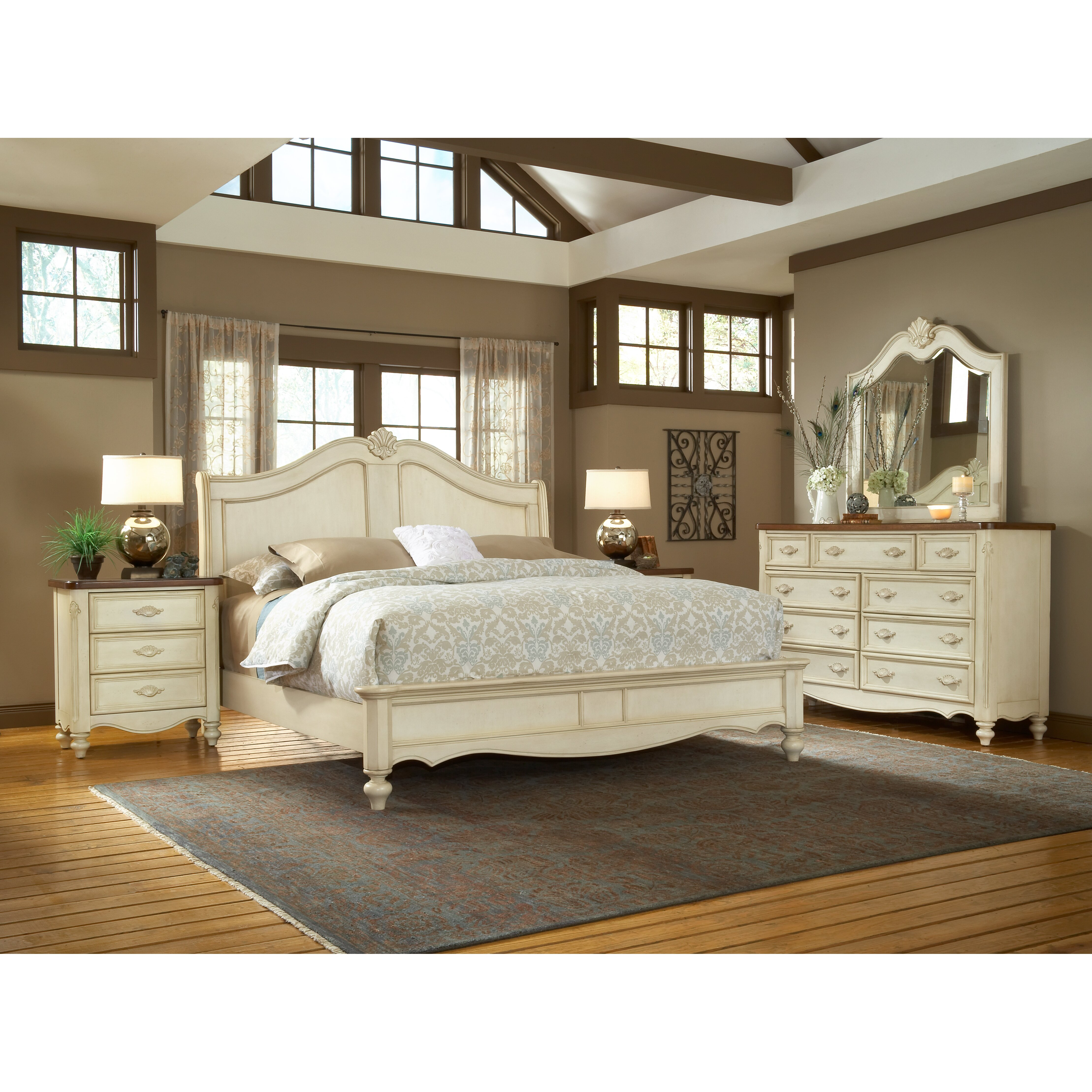 One allium way brecon panel customizable bedroom set for Furniture bedroom furniture