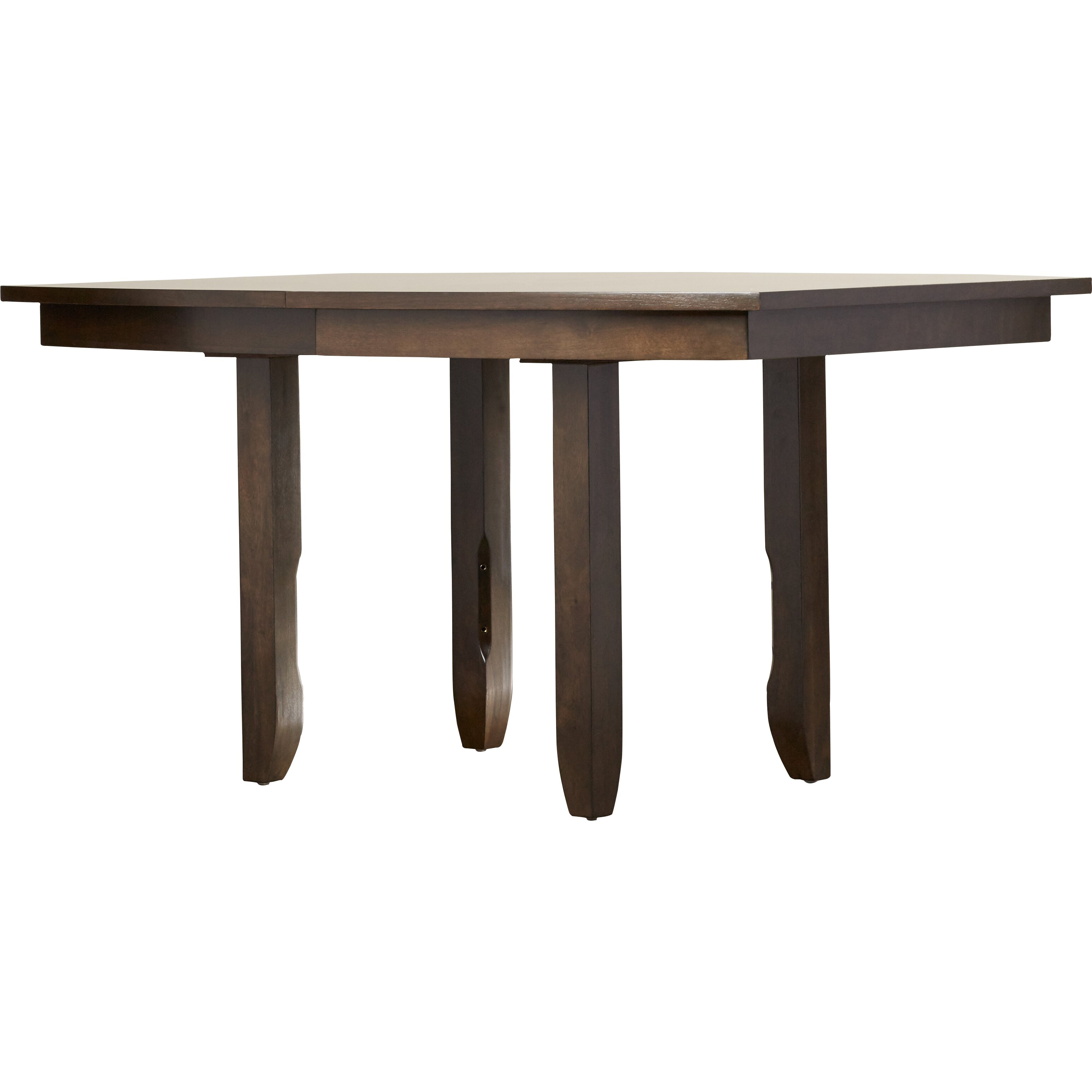 One allium way patterson pedestal dining table reviews for Wayfair dining table