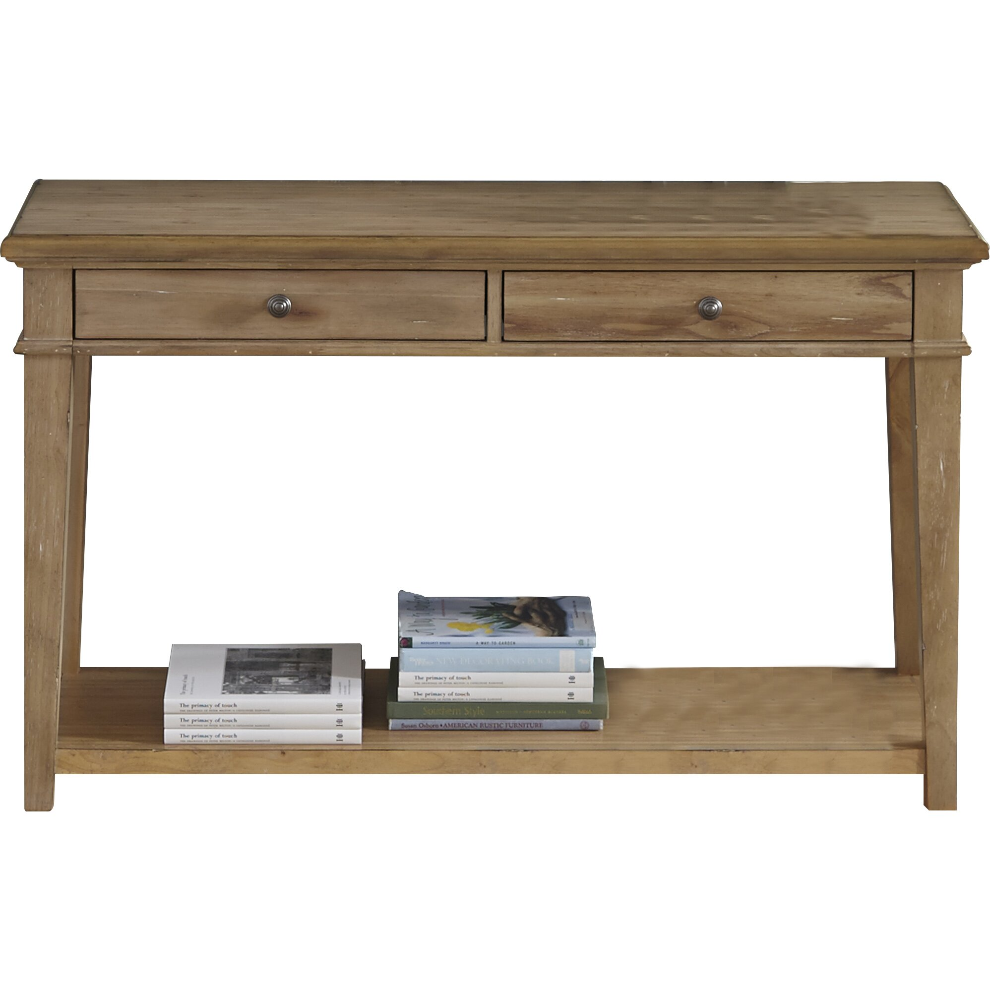 One allium way ancolie console table reviews wayfair for Furniture oak harbor