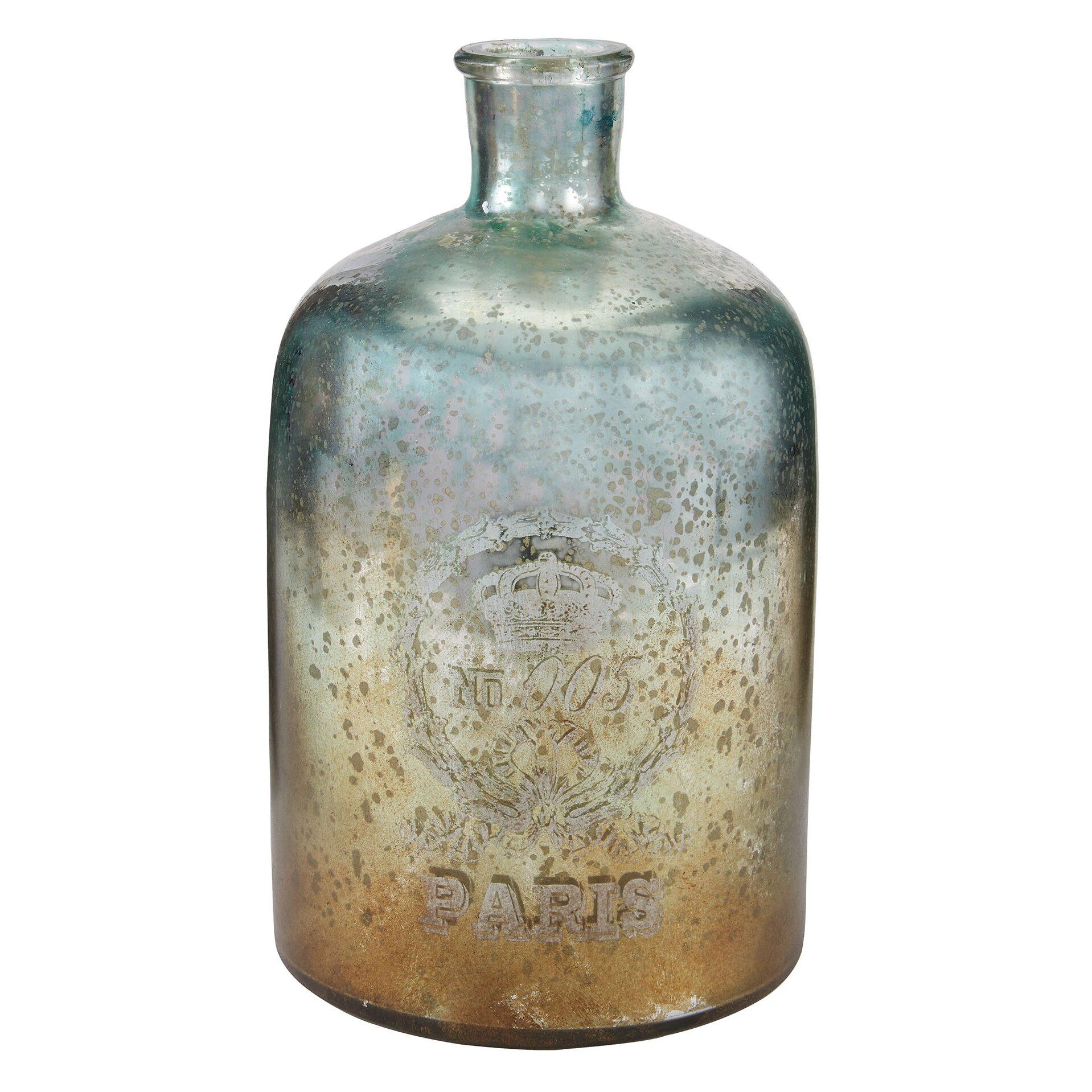 One Allium Way Glass Decorative Bottle Amp Reviews Wayfair