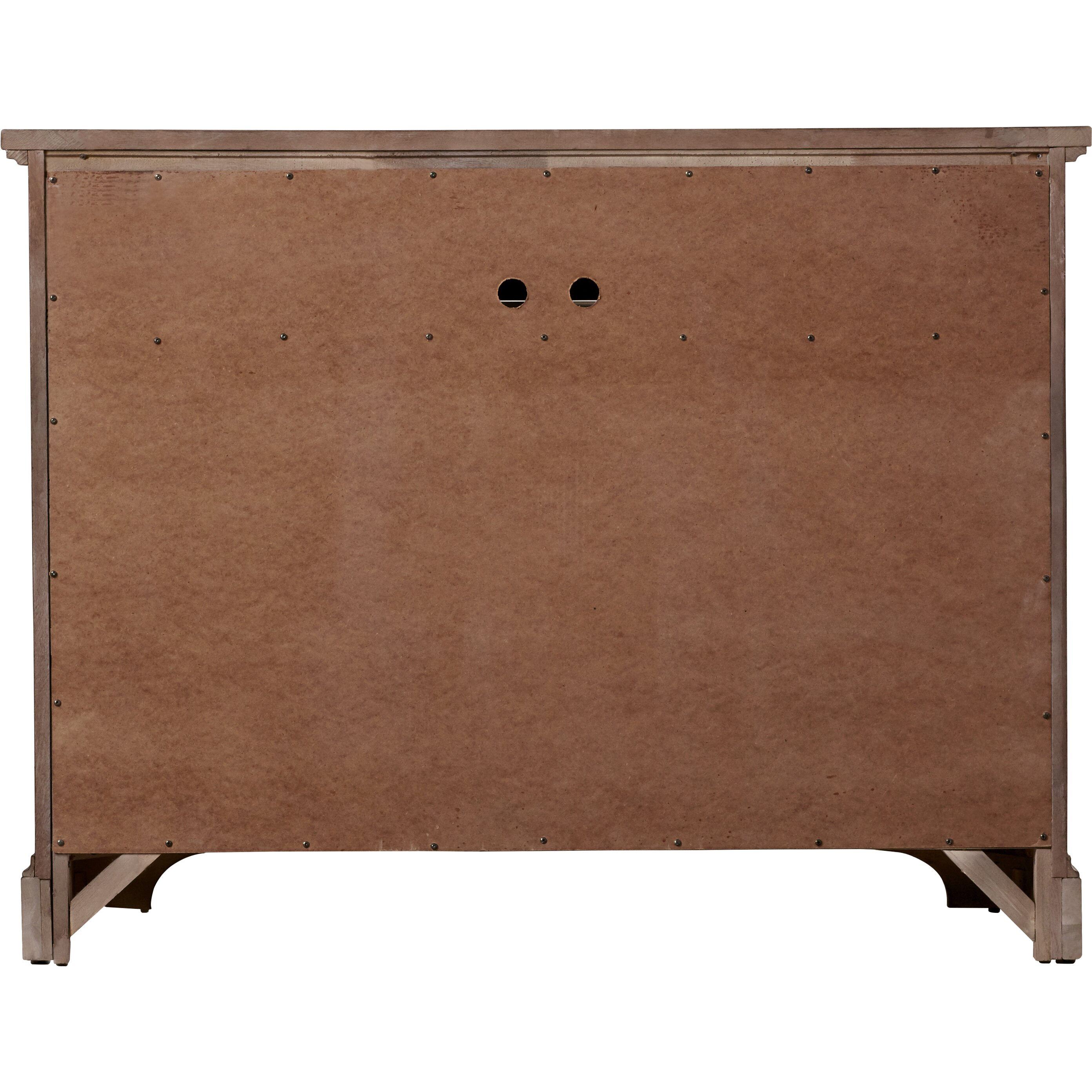 One allium way ang le weathered 6 drawer media chest for 1 door 6 drawer chest