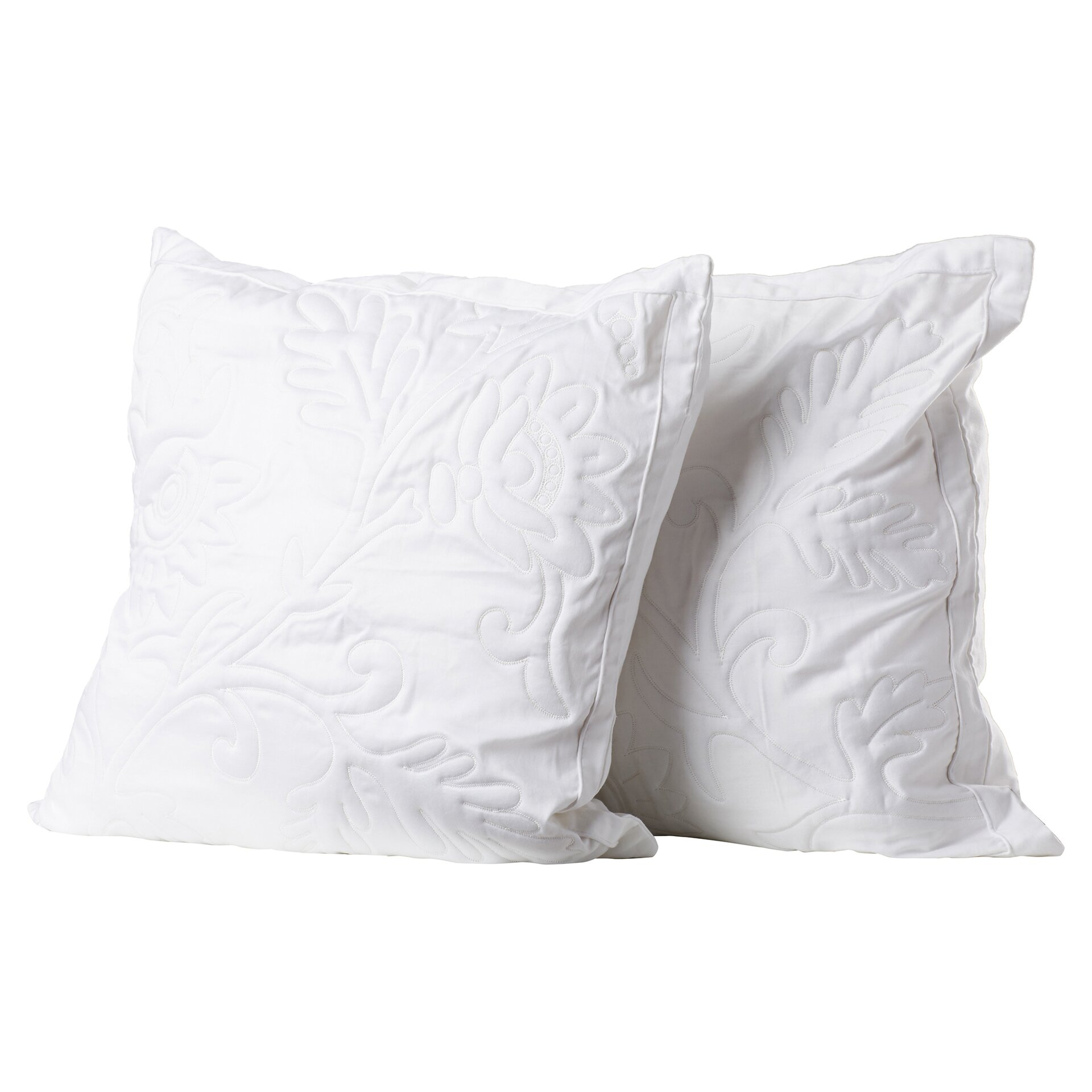 Quality Throw Pillows : One Allium Way Opal Quilted Throw Pillow & Reviews Wayfair
