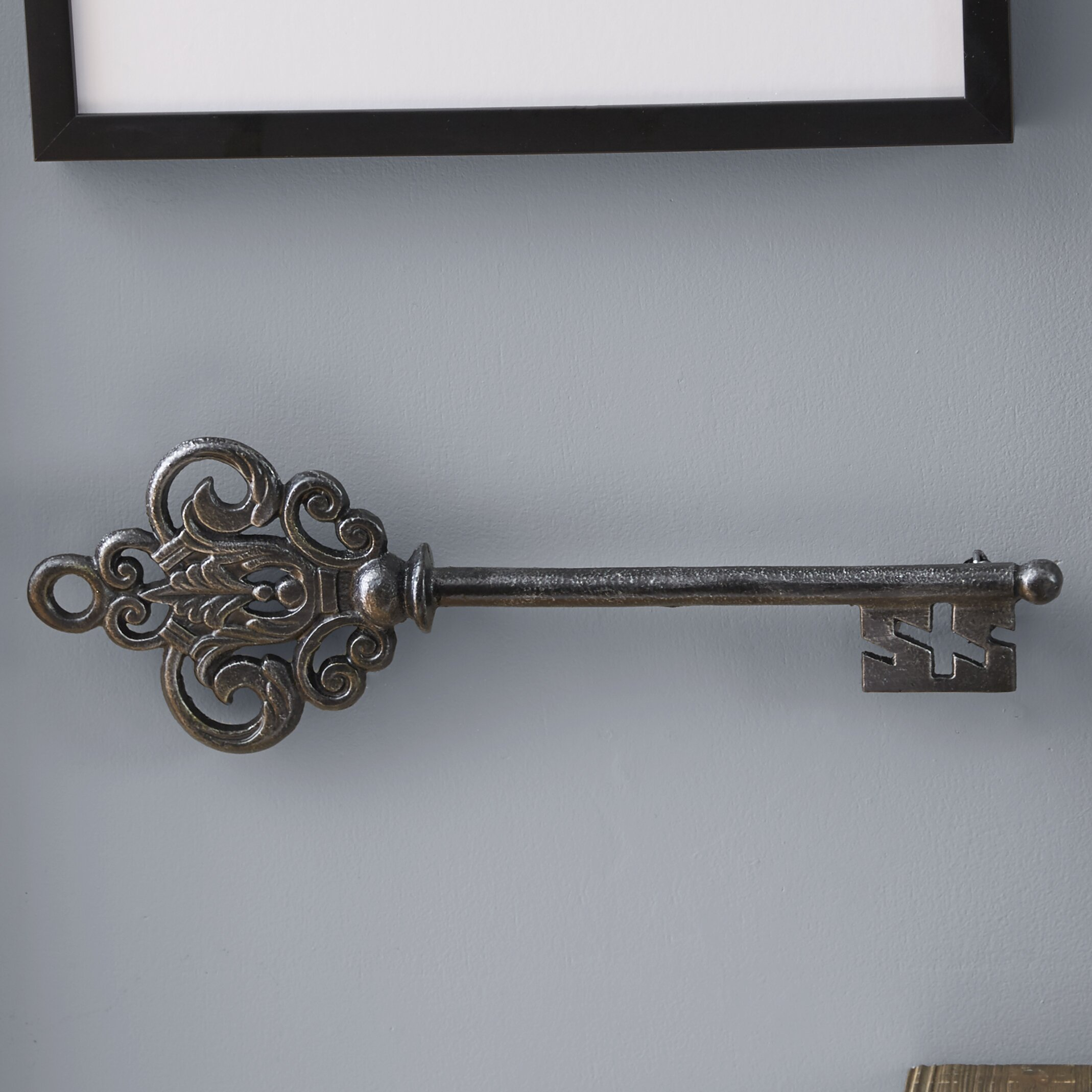 Wall Decor Keys : One allium way carota key wall d?cor reviews wayfair