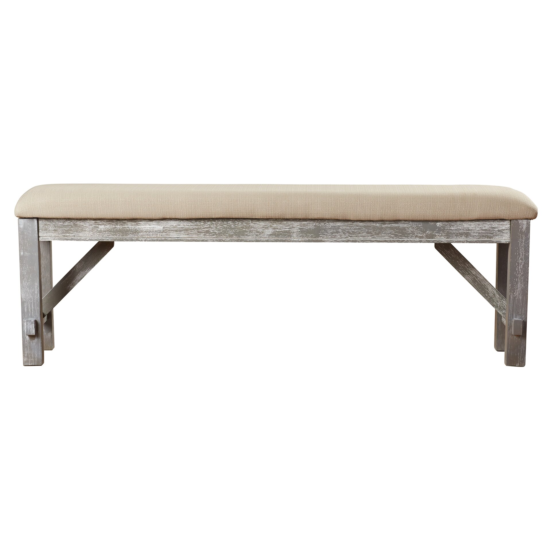 One allium way amandine upholstered entryway bench Upholstered benches