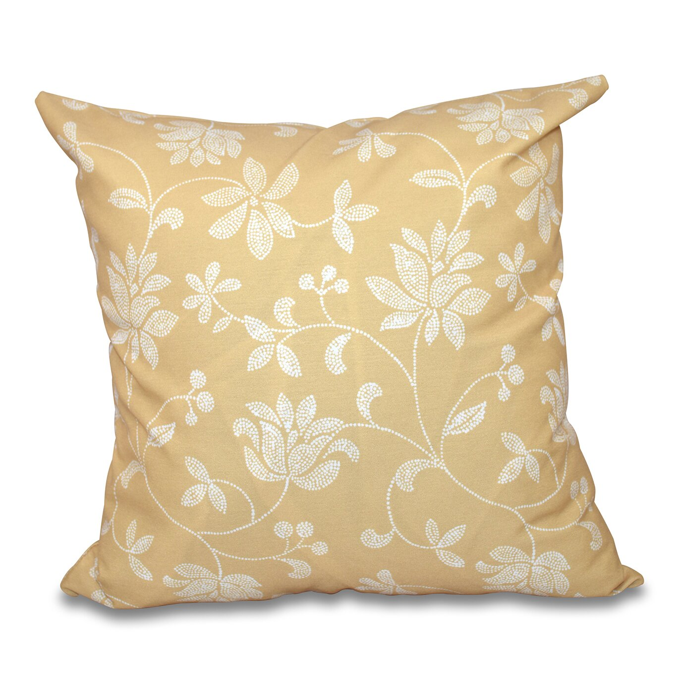 Traditional Throw Pillows : One Allium Way Grovetown Traditional Floral Print Throw Pillow & Reviews Wayfair