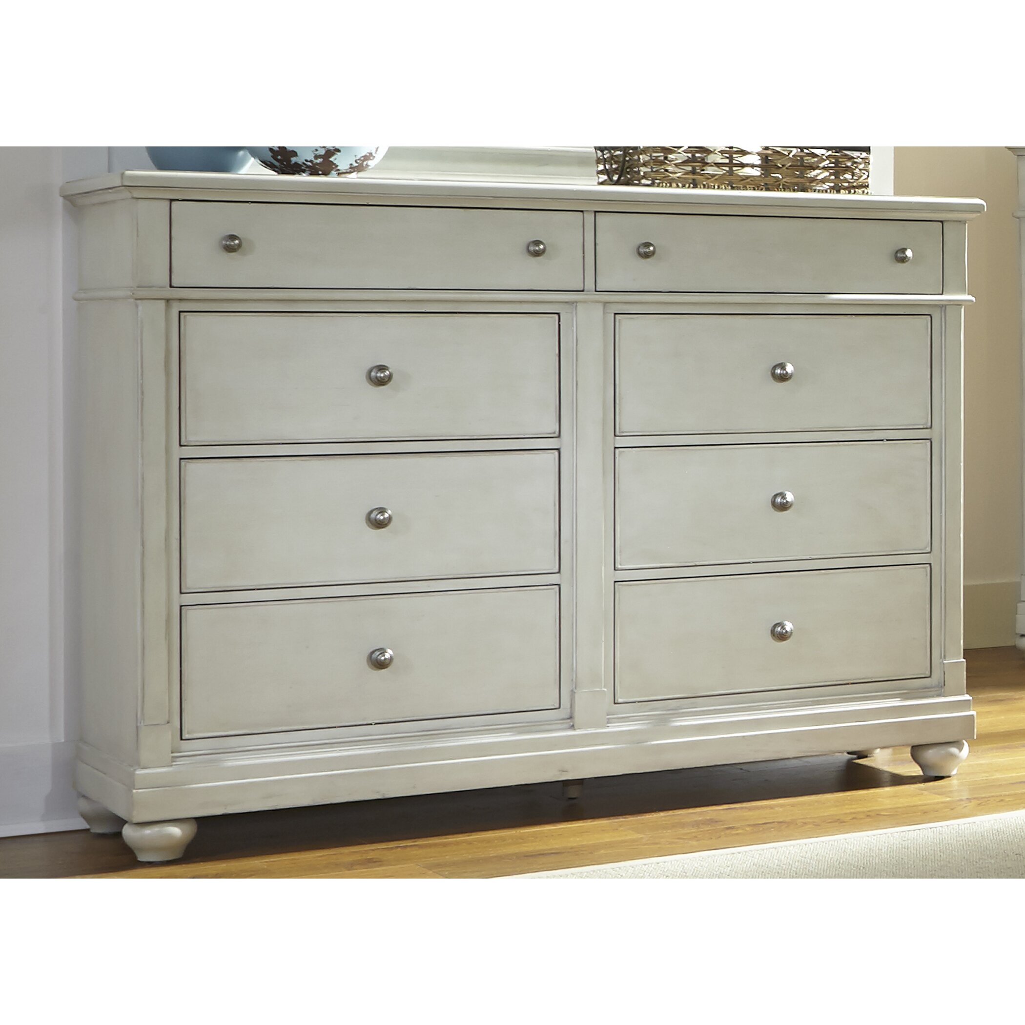 Beachcrest Home Stamford 8 Drawer Dresser Reviews Wayfair