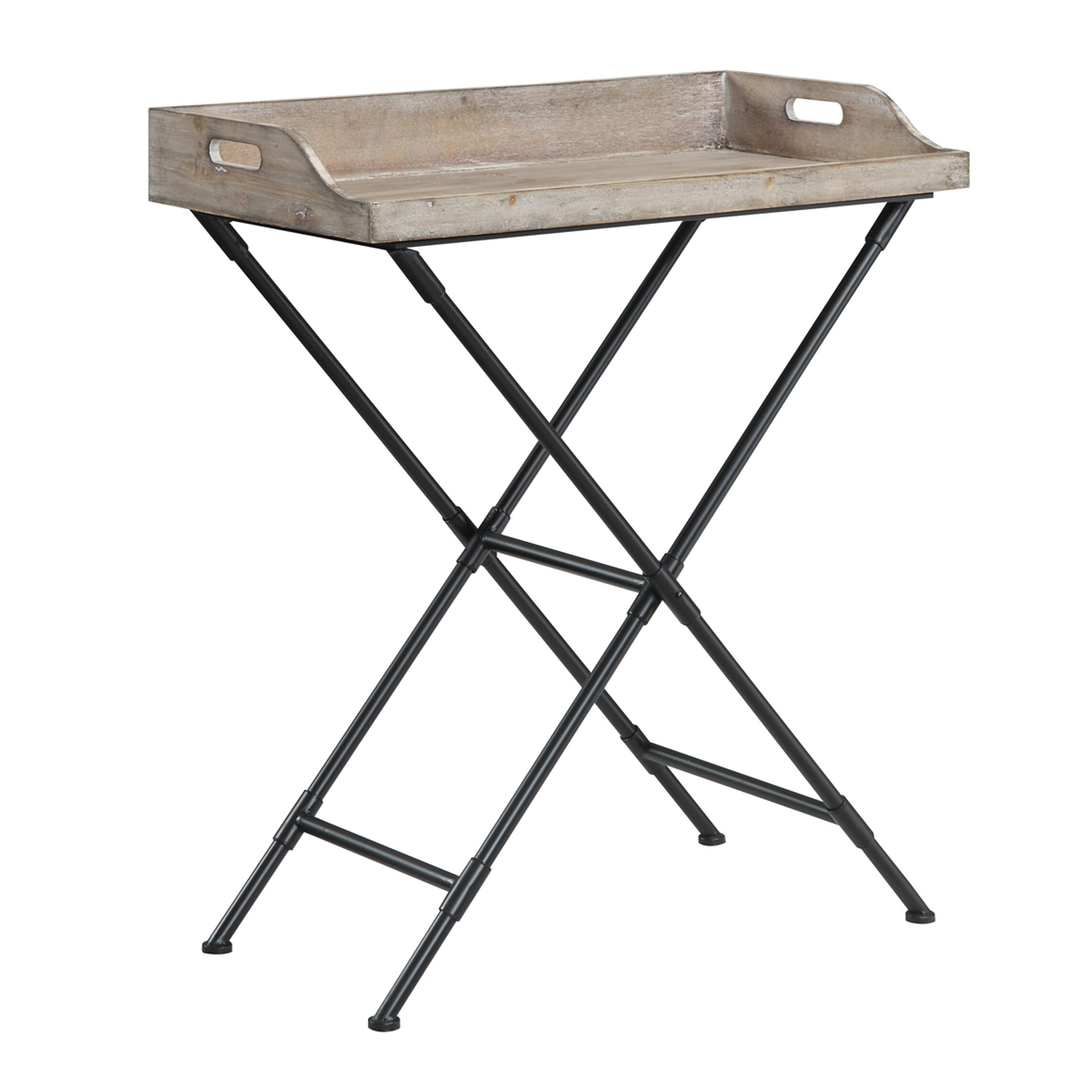 Beachcrest Home Edgewood Folding Tray Table & Reviews ...