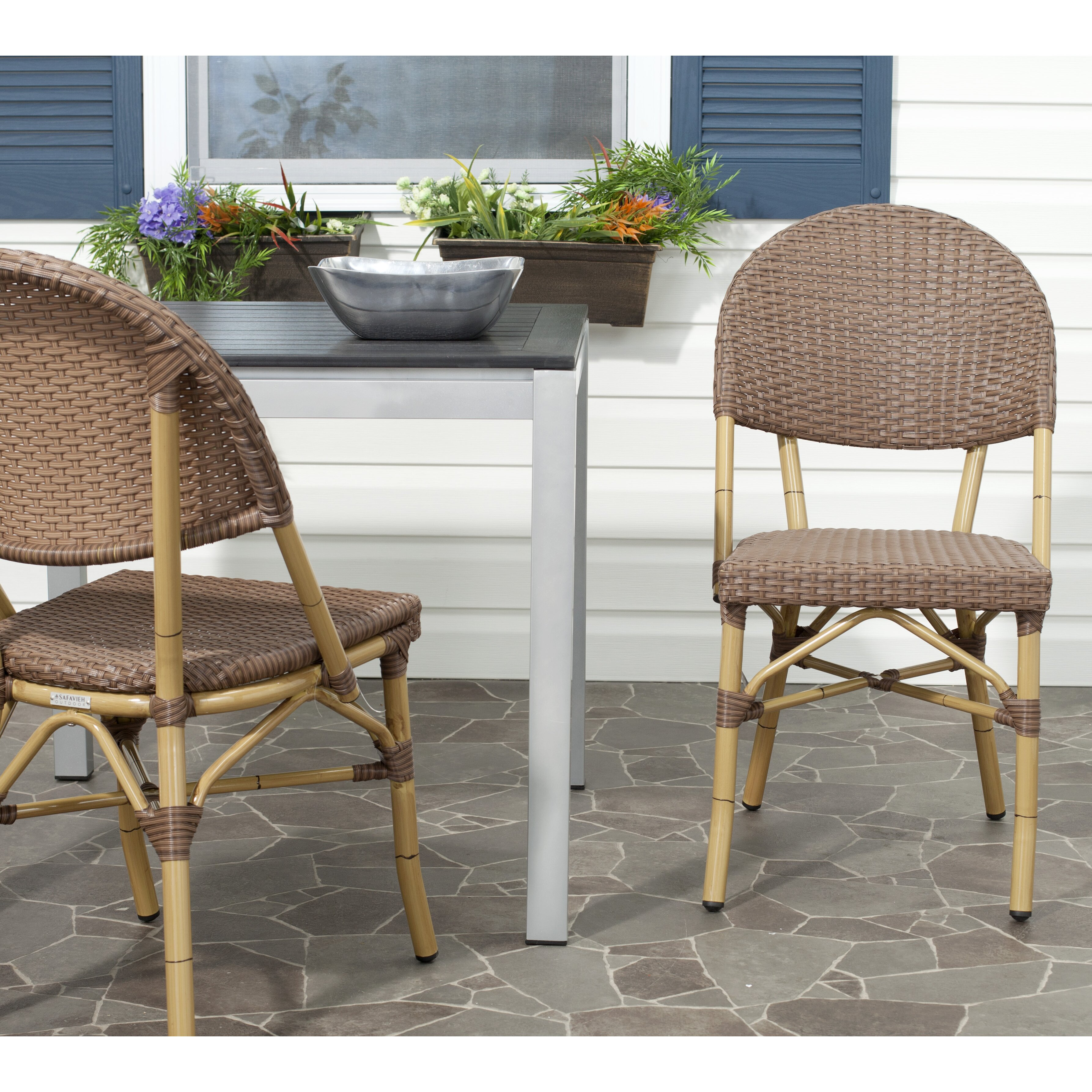 Beachcrest Home Lakeshore Stacking Side Chair Amp Reviews