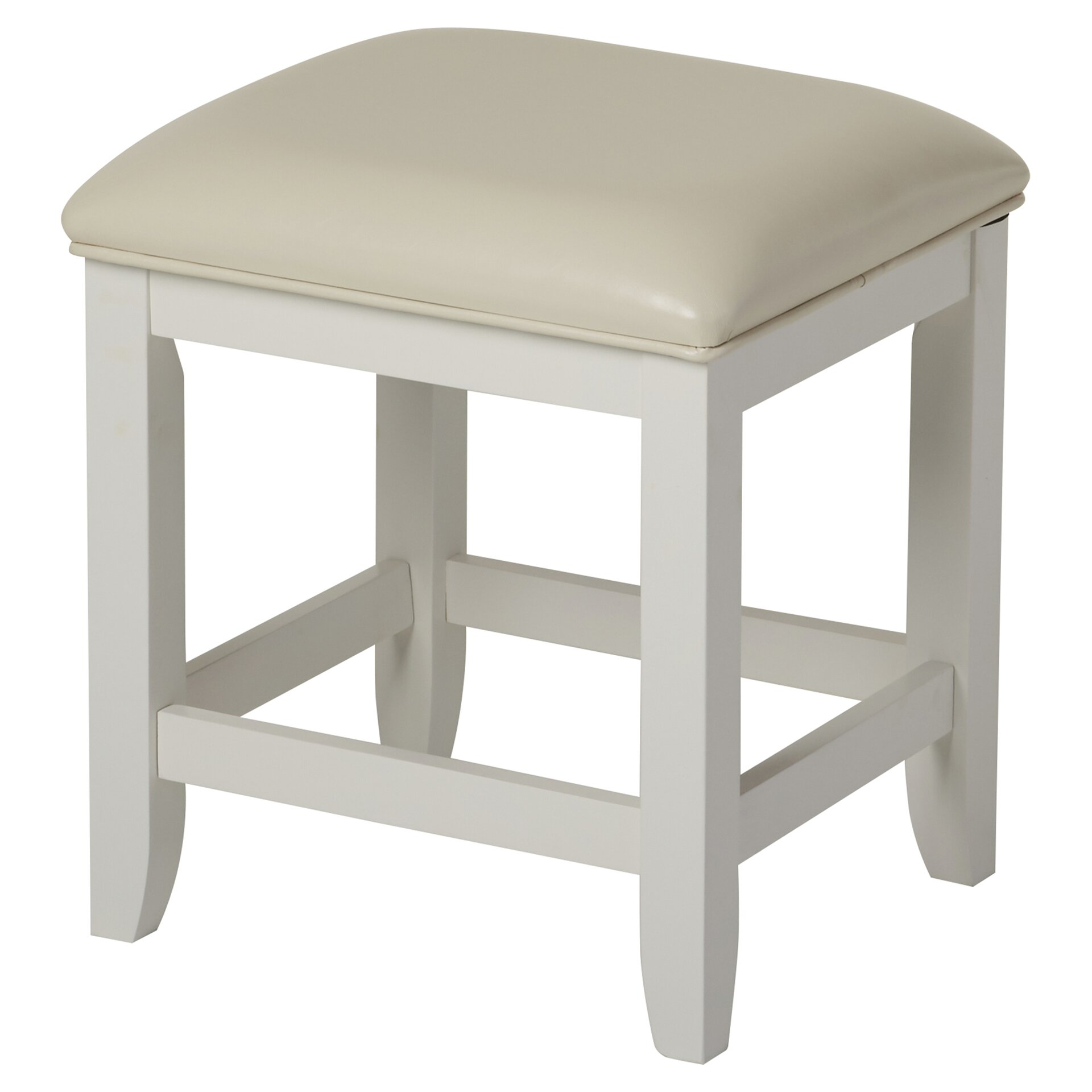 Beachcrest Home Westwood Vanity Stool & Reviews | Wayfair