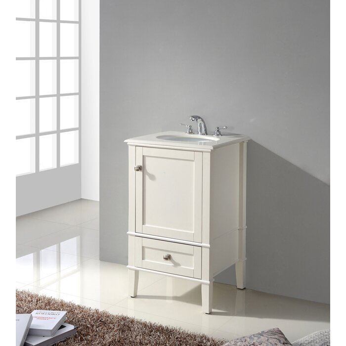 Beachcrest Home Hendry 21 Quot Single Bathroom Vanity Set