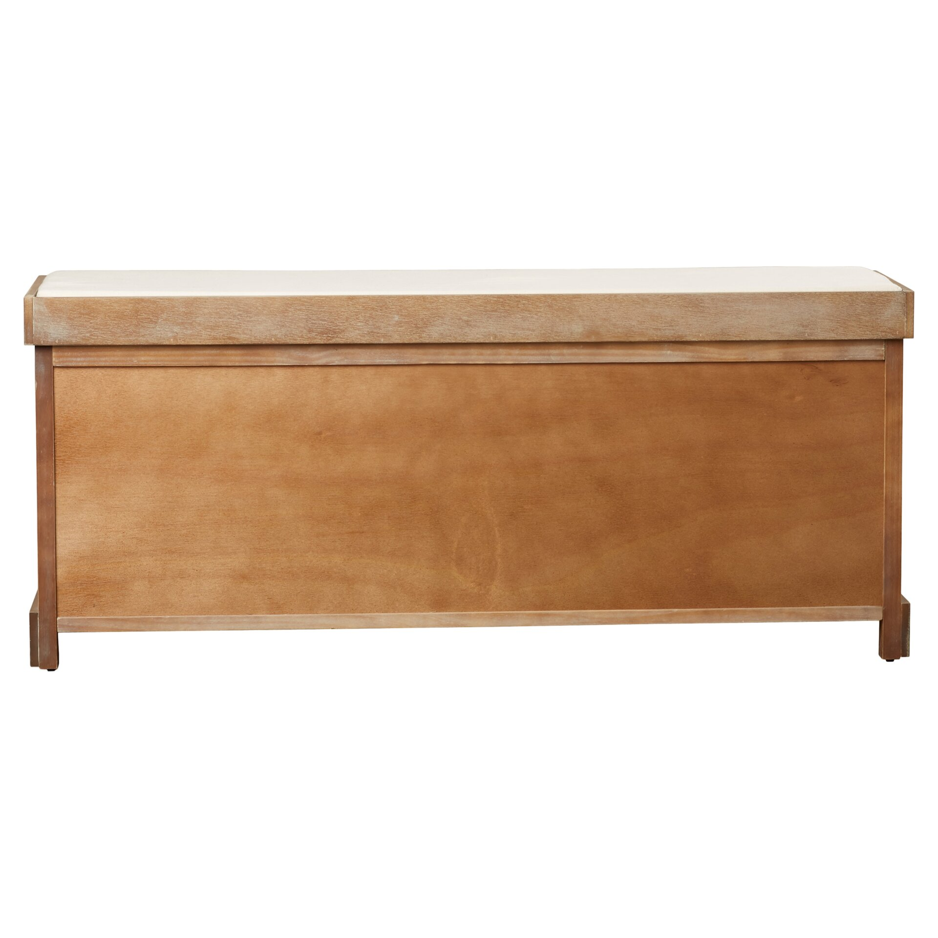 Beachcrest Home Seminole Wood Storage Hallway Bench Reviews Wayfair