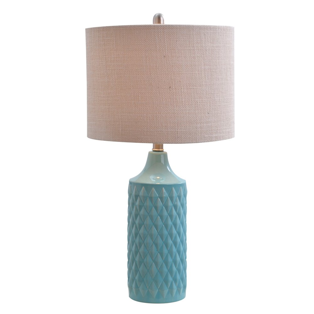 Beachcrest Home Melbourne Beach 266quot H Table Lamp with  : 266 H Table Lamp with Drum Shade SEHO2691 from www.wayfair.com size 1000 x 1000 jpeg 110kB