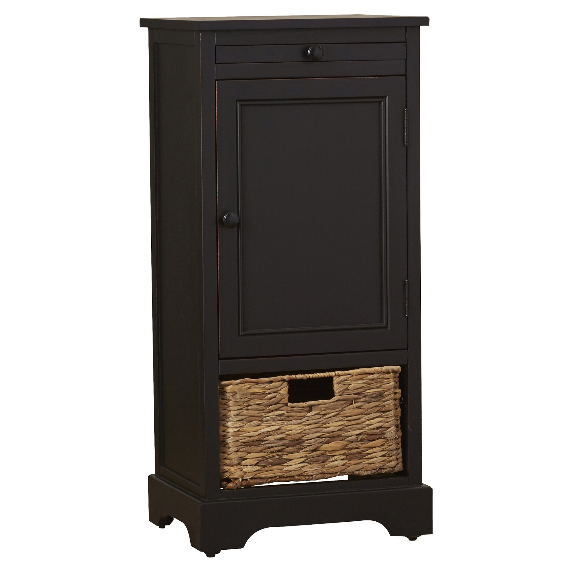 Home Depot Cabinets Review: Beachcrest Home Blaclava 1 Drawer Storage Cabinet