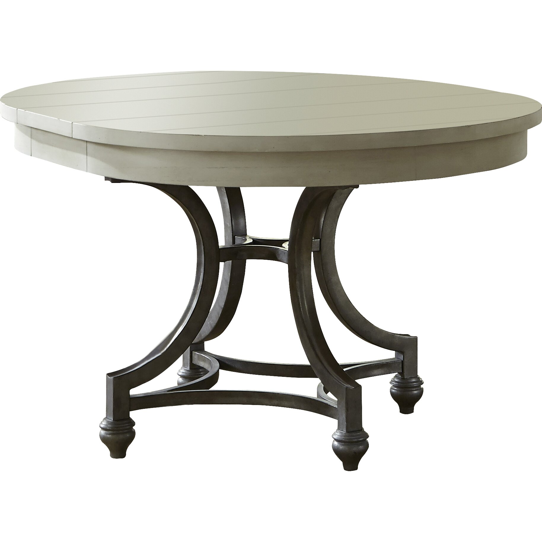 Beachcrest home stamford round dining table reviews for Round kitchen table for 4