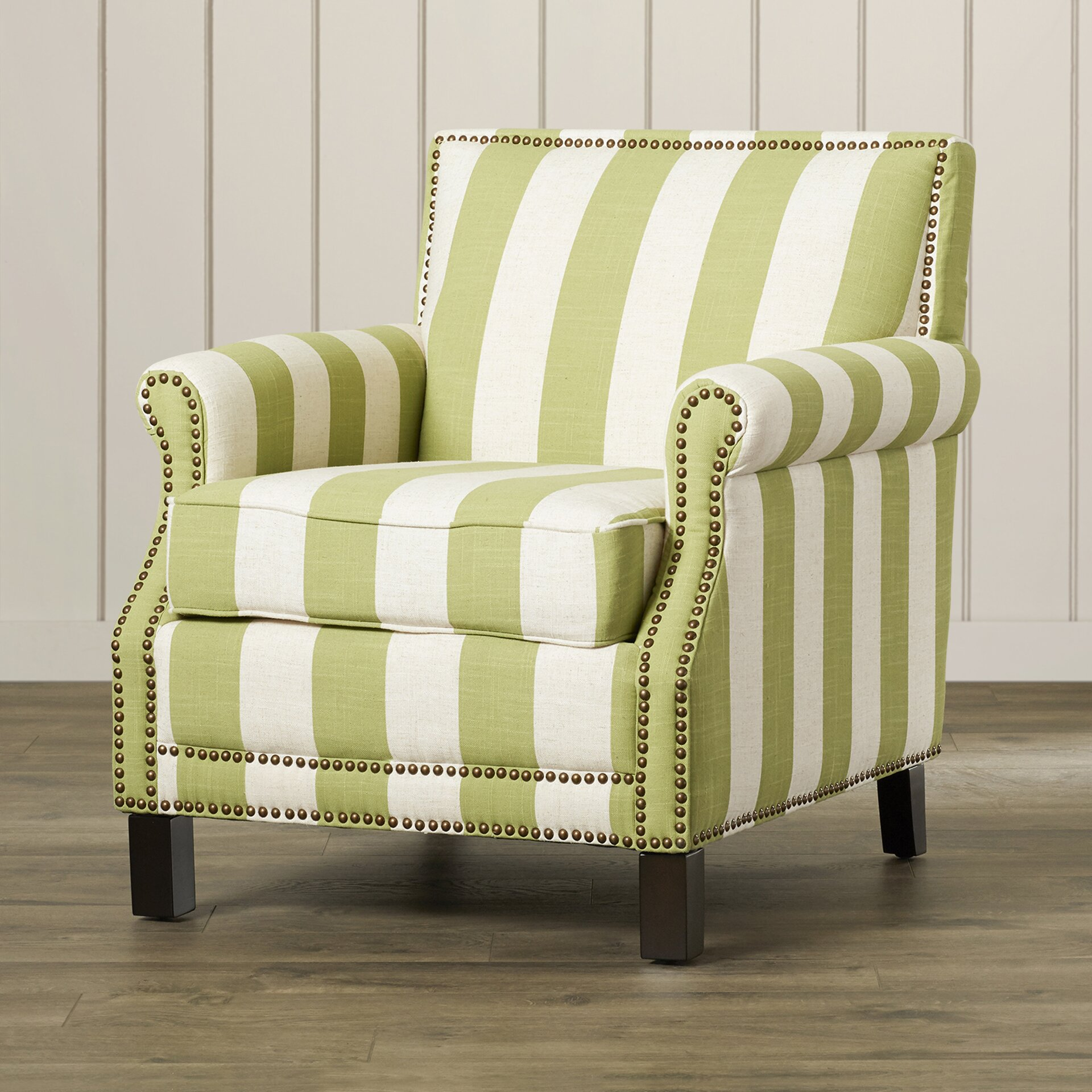 Smallgrey And Green Accent Chair: Beachcrest Home Indian Harbour Arm Chair In Green With
